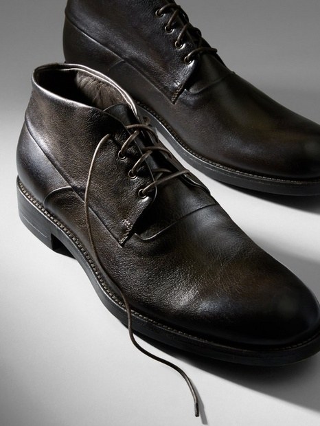 THE JACOB LEATHER CHUKKA