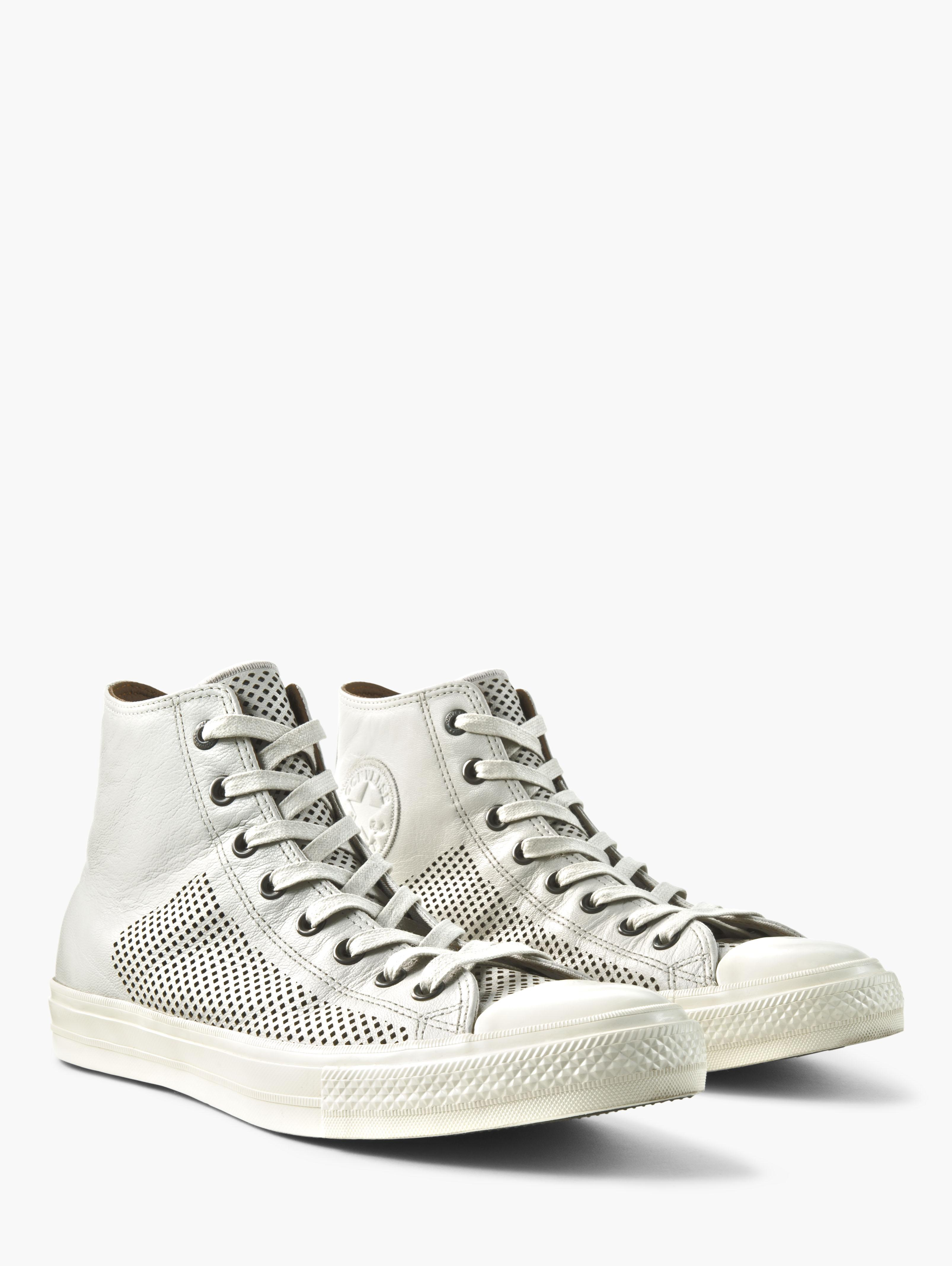Chuck II Perforated Leather High Top