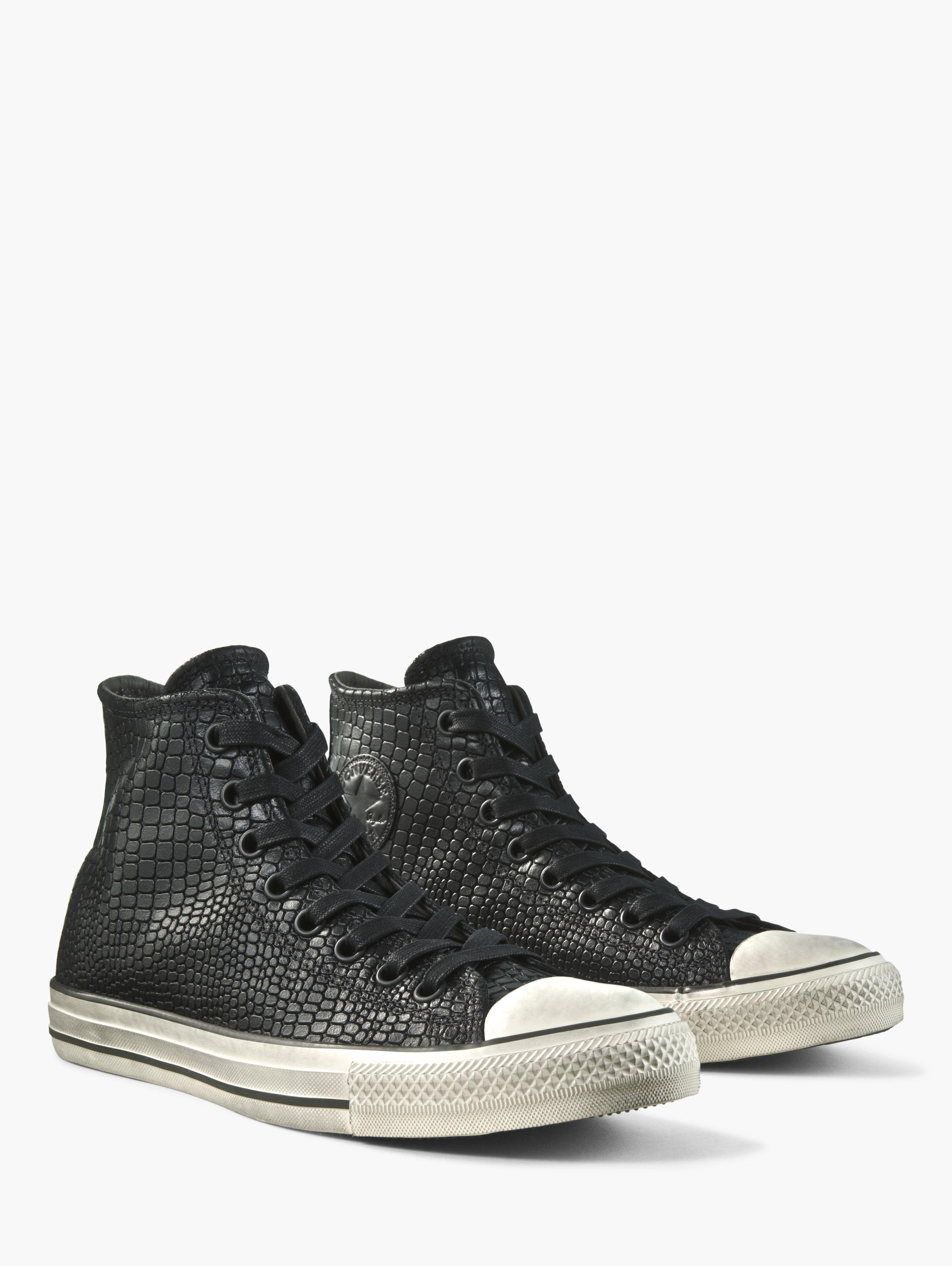 Reptile Embossed Chuck Taylor High Top