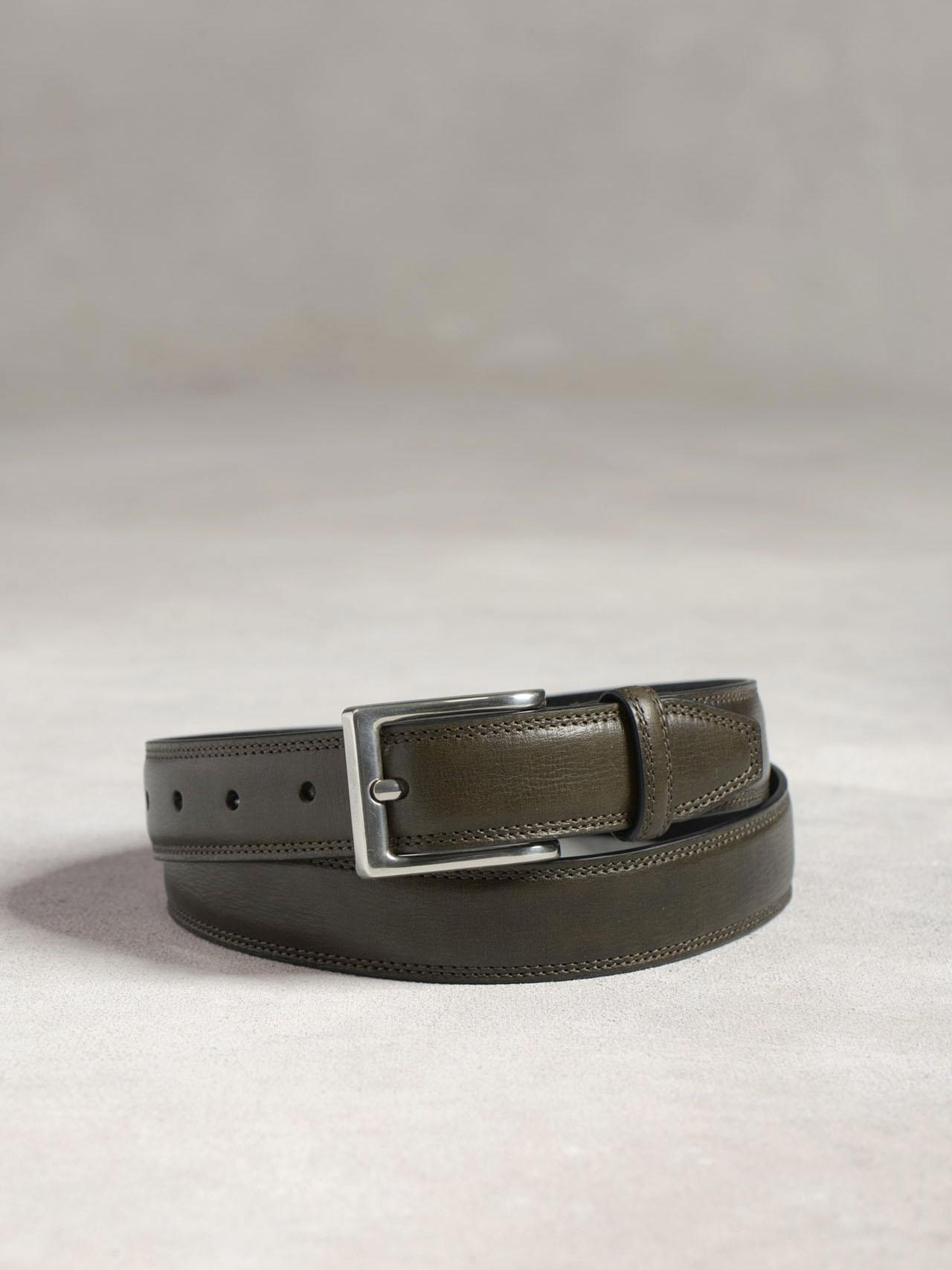 DOUBLE STITCH PANEL BELT W/ SQ HARNESS