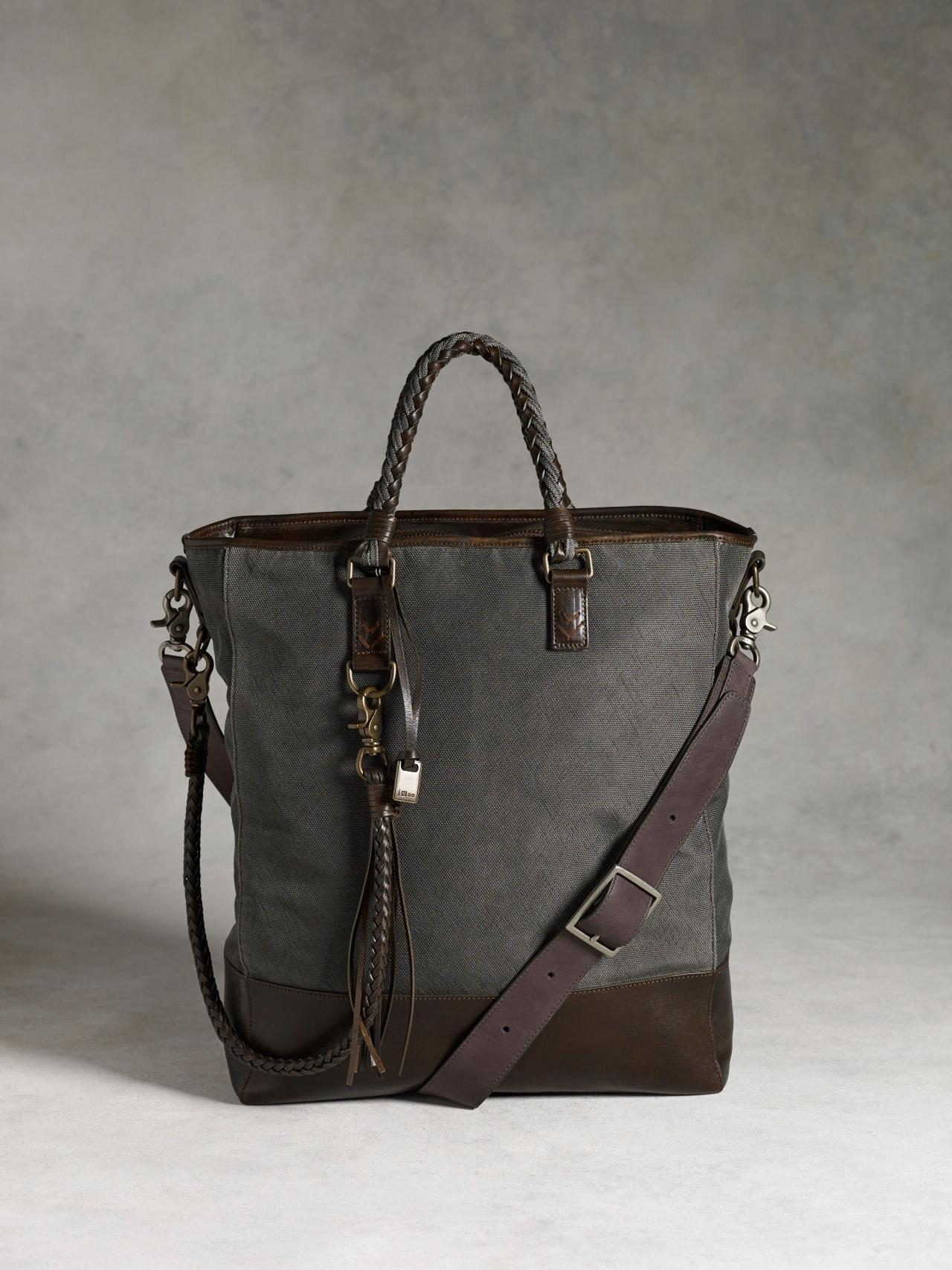 BOWERY BRAIDED SHOPPER