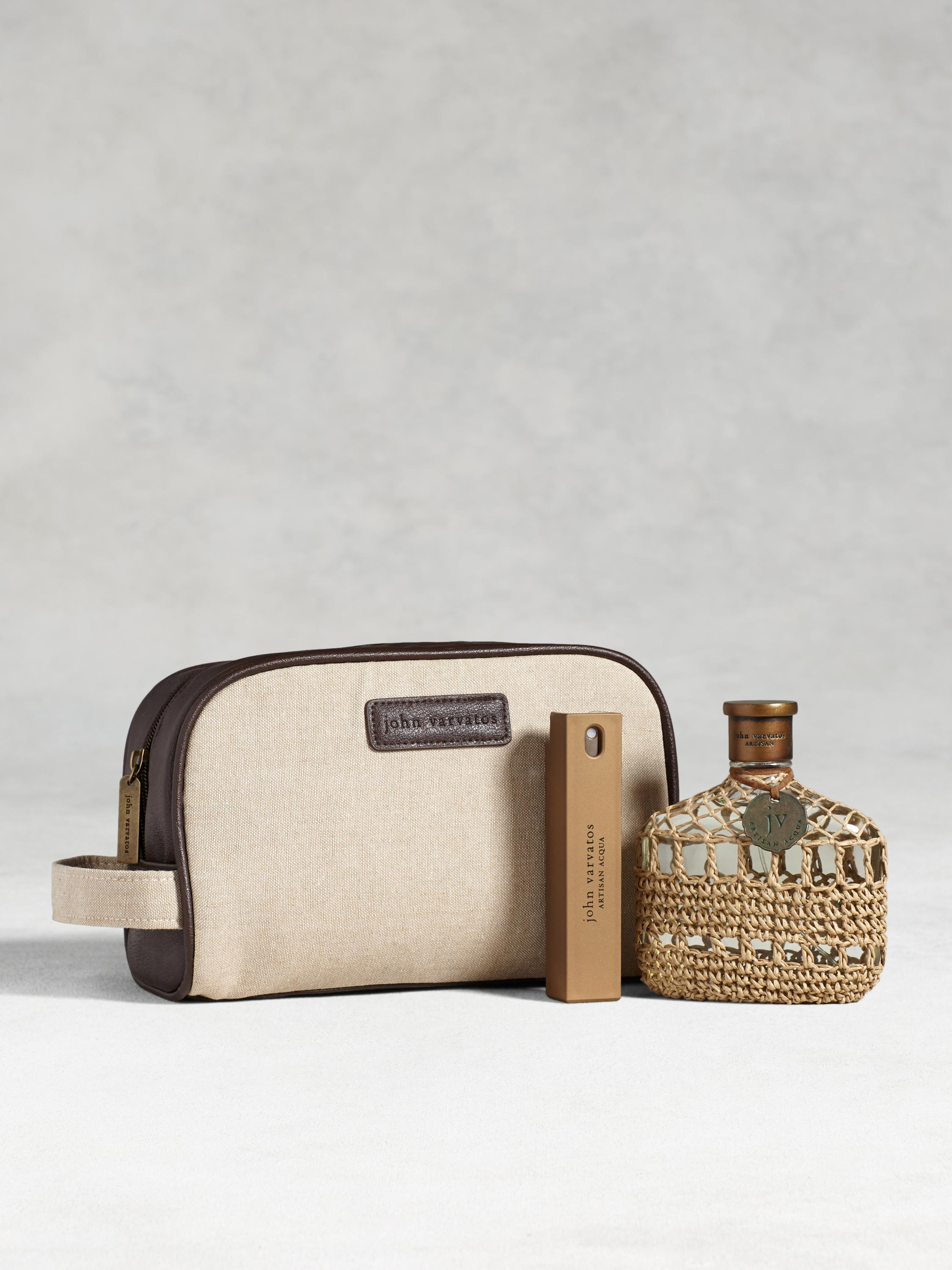 Artisan Acqua 4.2oz Dopp Kit Set