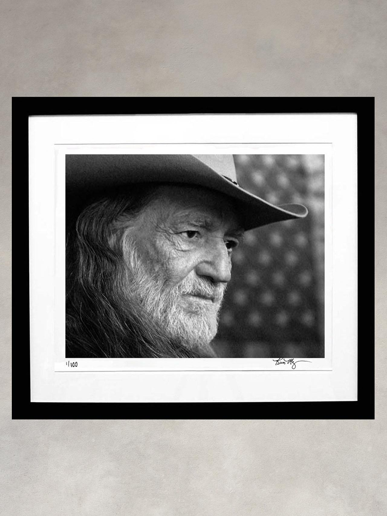 Willie Nelson by Kevin Mazur