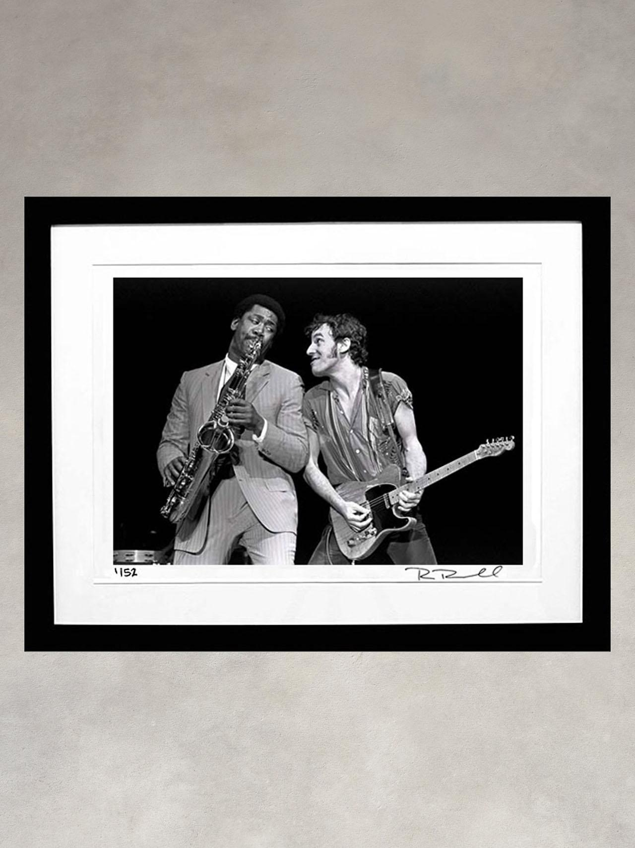Bruce Springsteen & Clarence Clemons by Ron Pownall