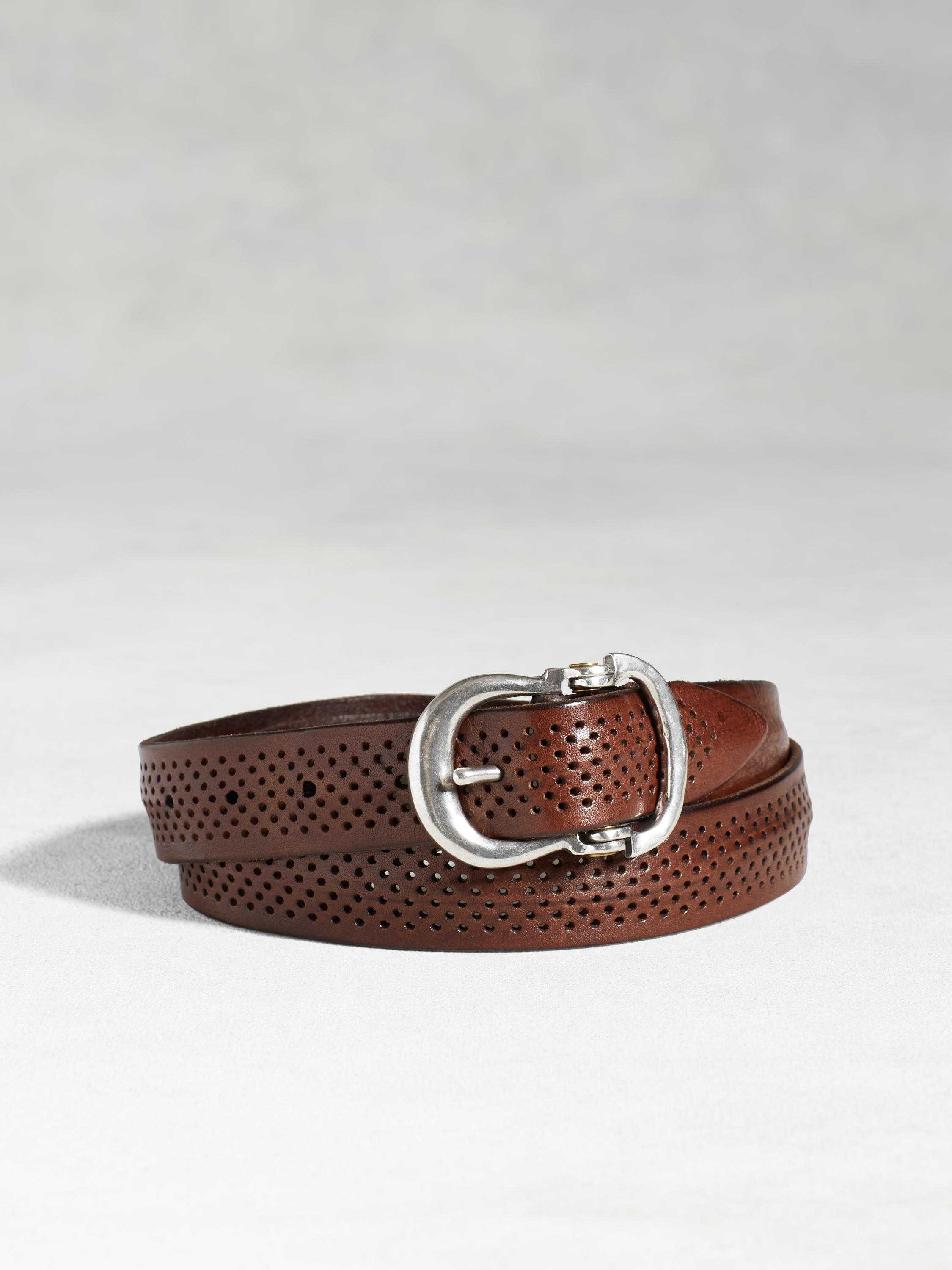 Artisan Perforated Belt