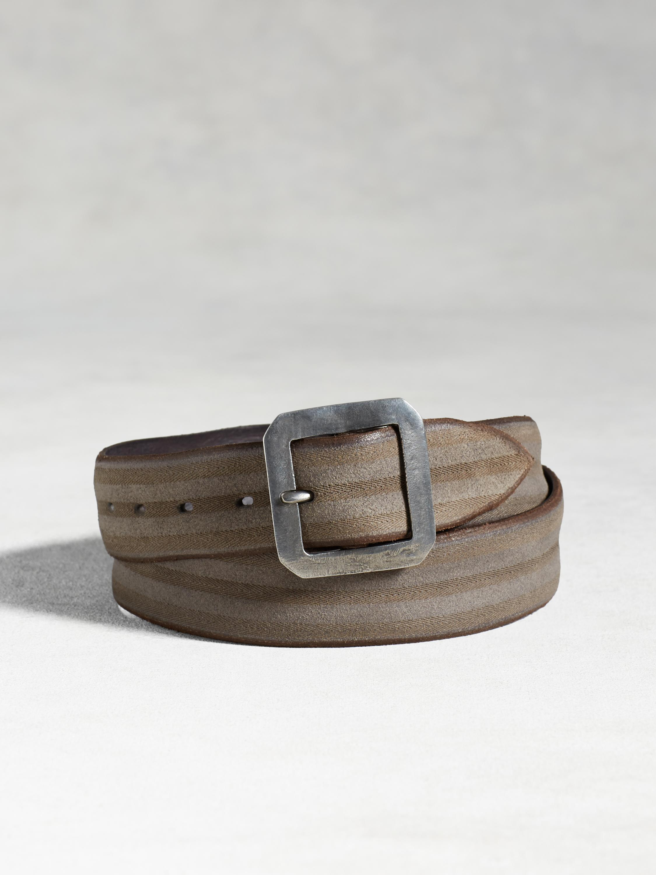 Artisan Laser Etched Belt