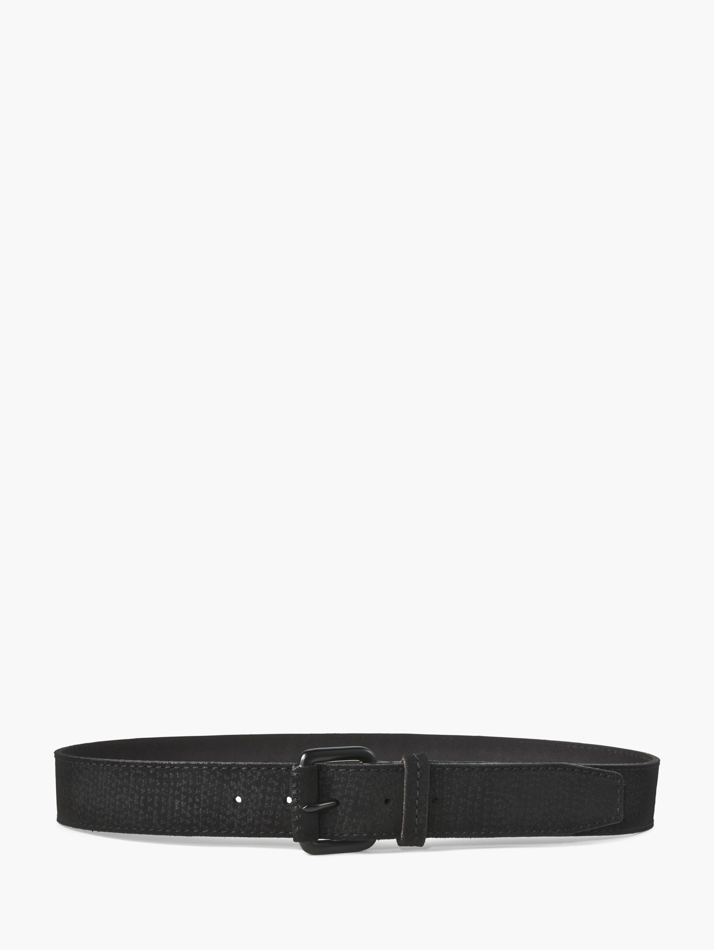 Suede Textured Belt
