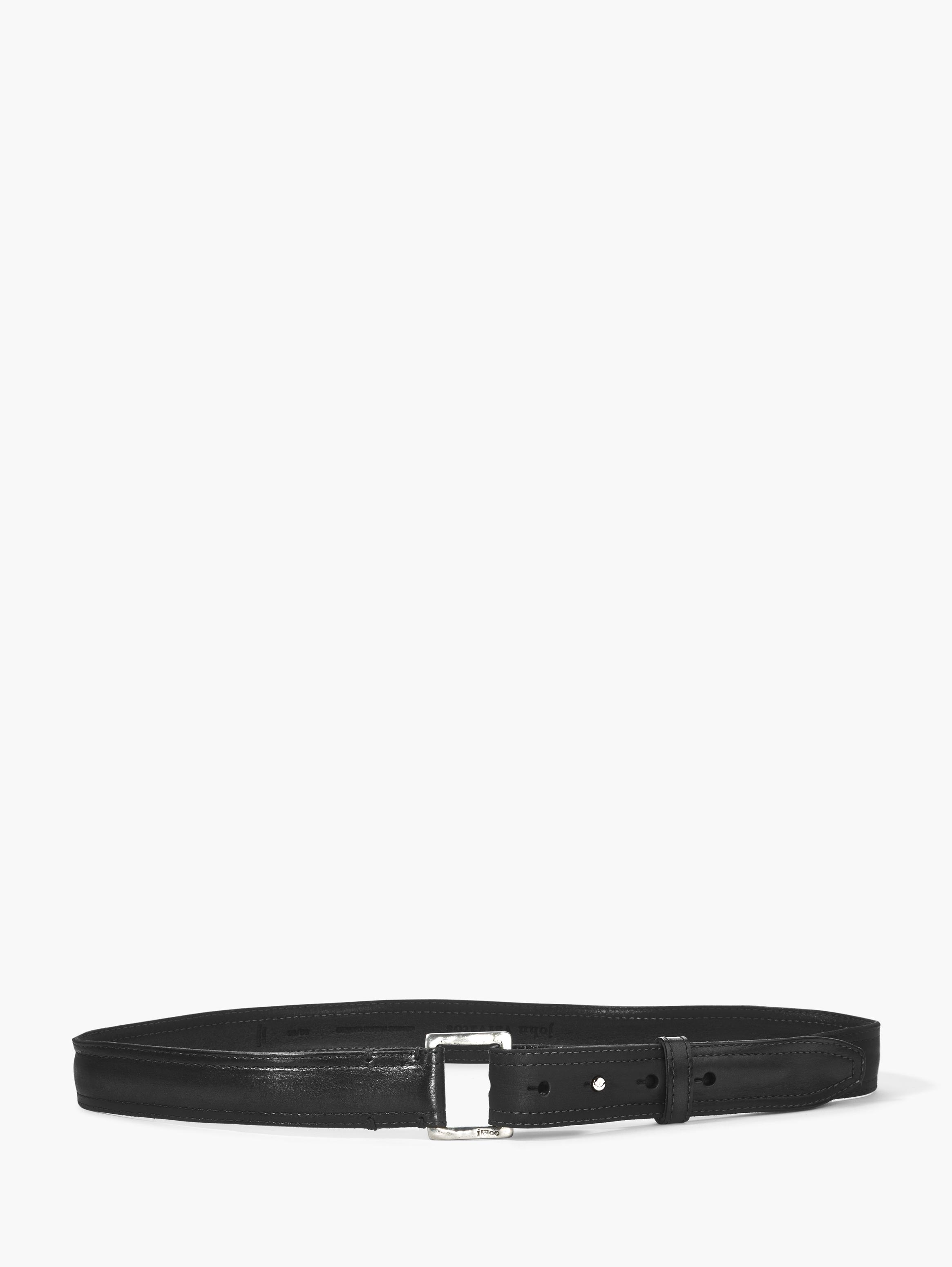 Leather Pull Back Belt