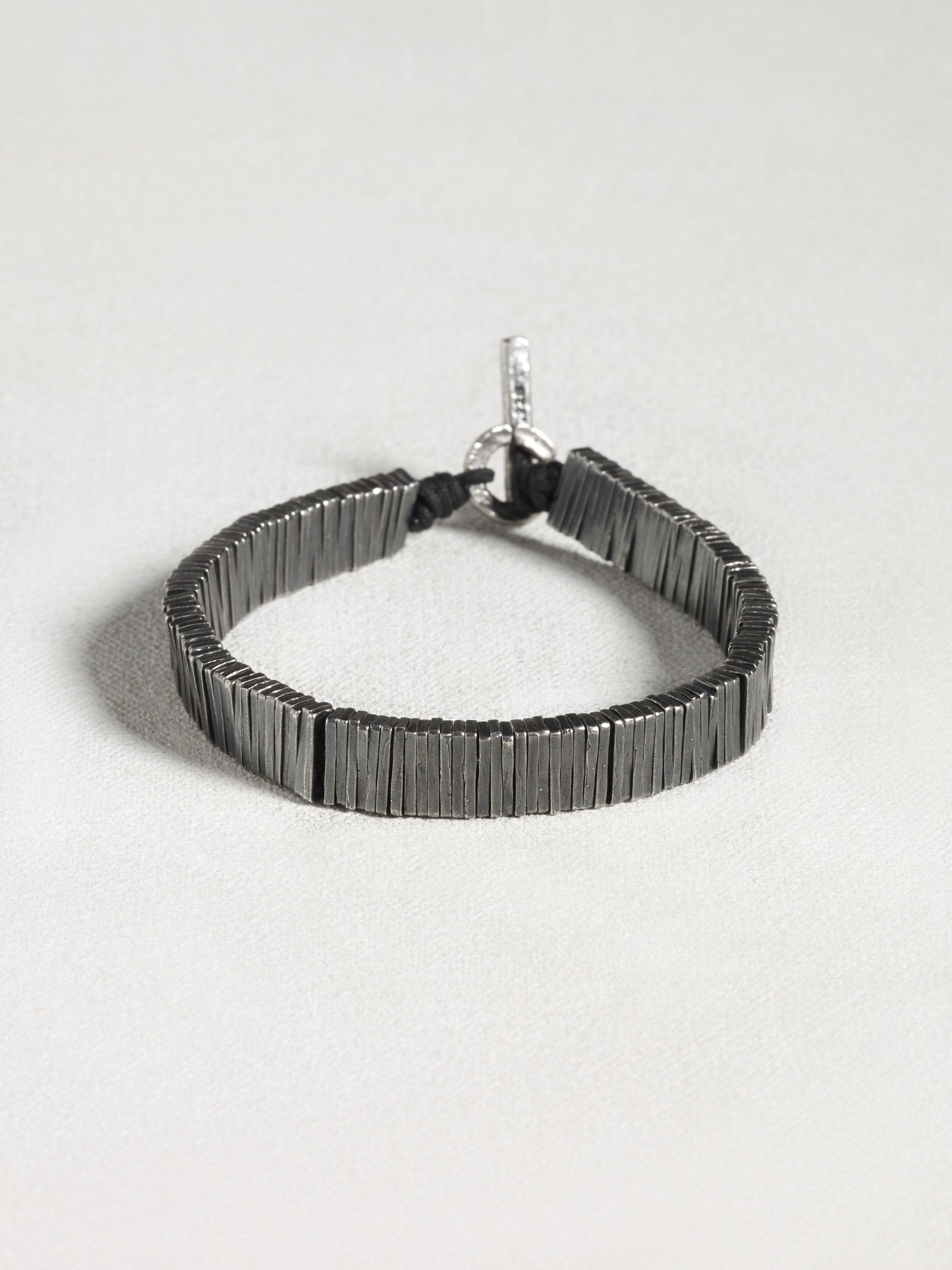 Vertical Disc Bracelet