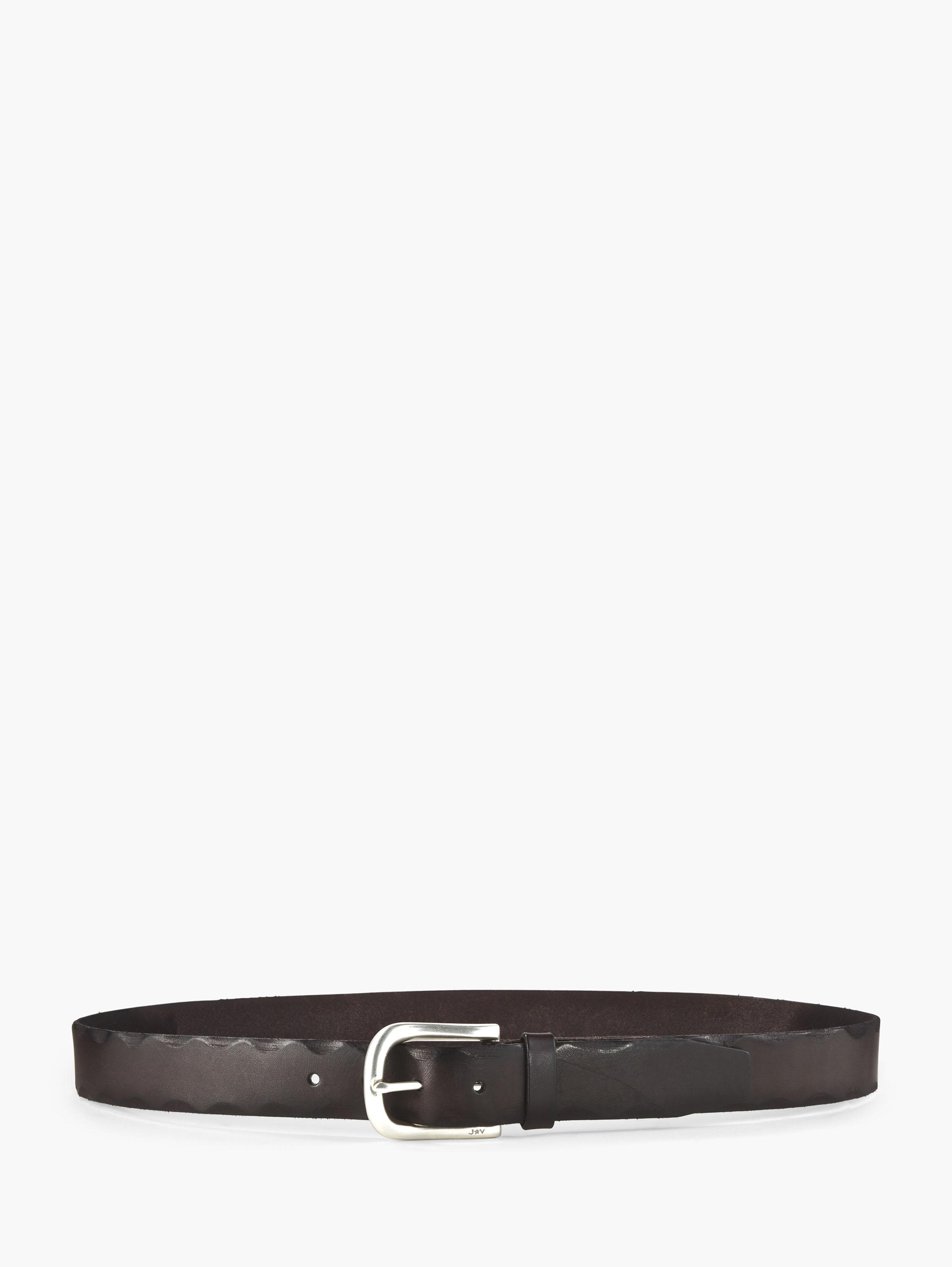Edged Leather Belt