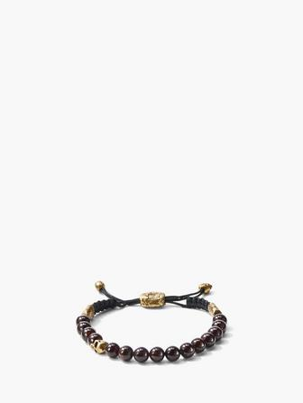 8mm Brass Skull With Color Beads