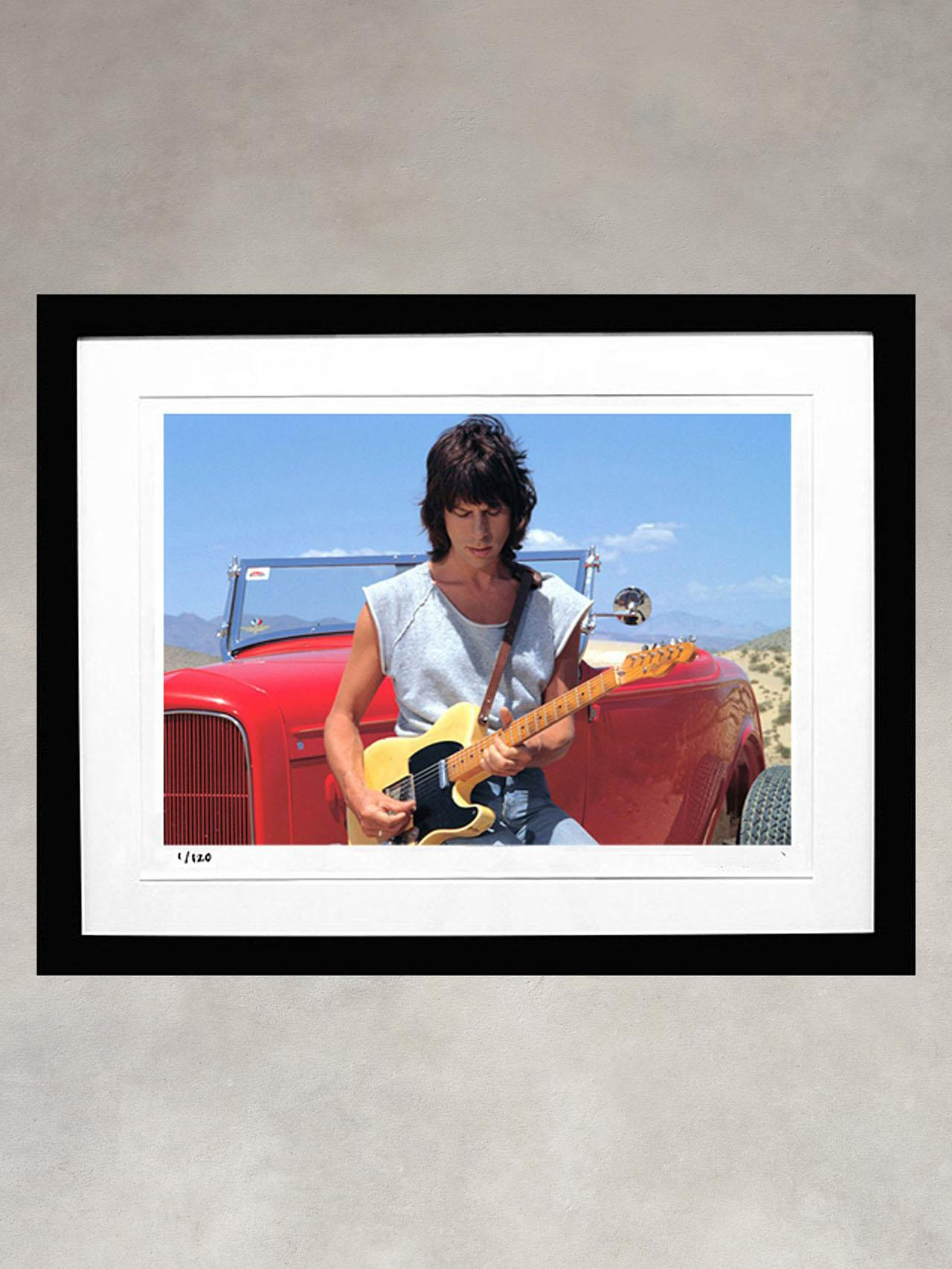 Jeff Beck by Robert M. Knight