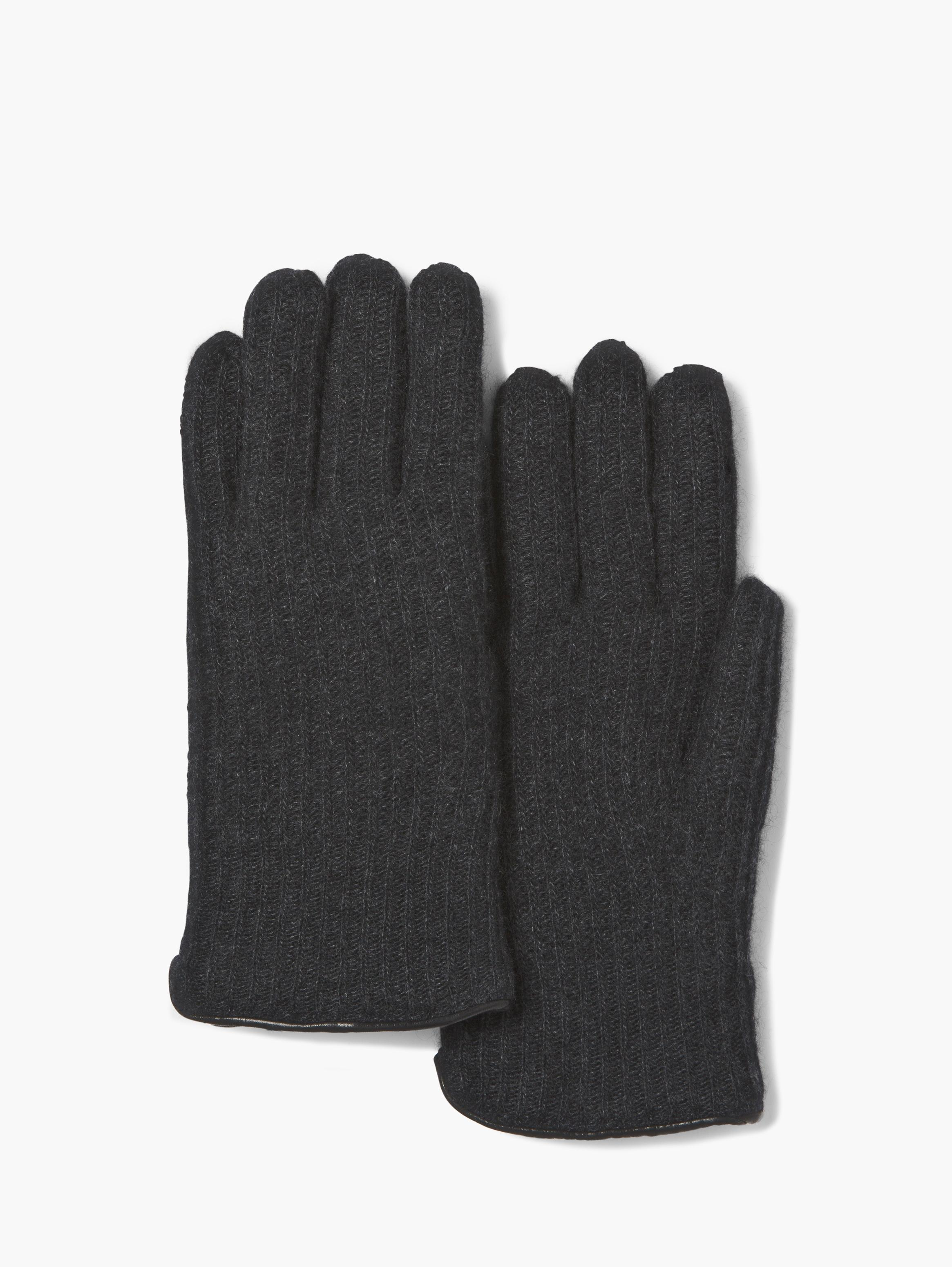 Cashmere and Shearling Gloves