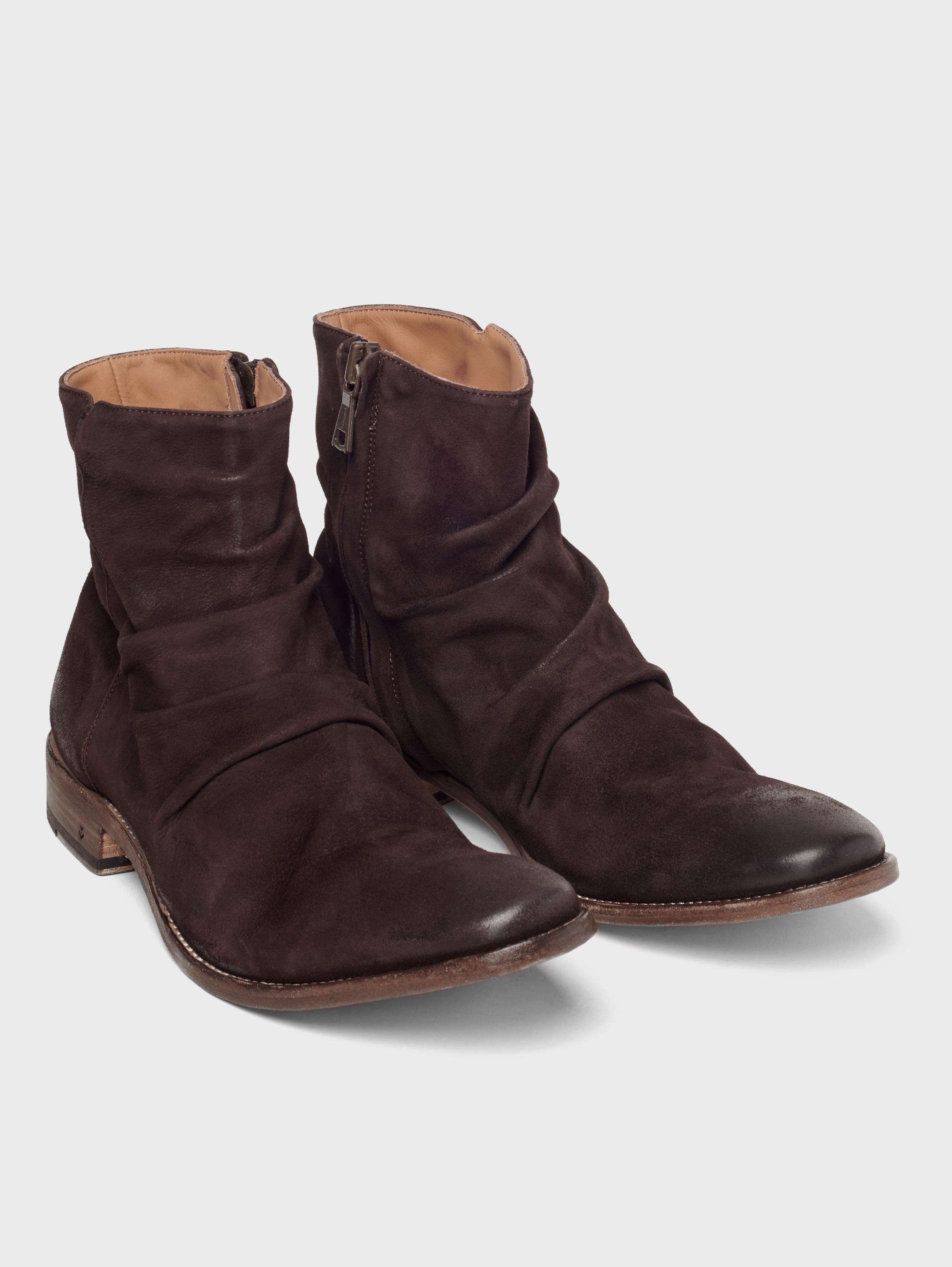 John Varvatos Morrison Sharpei Boots Chocolate