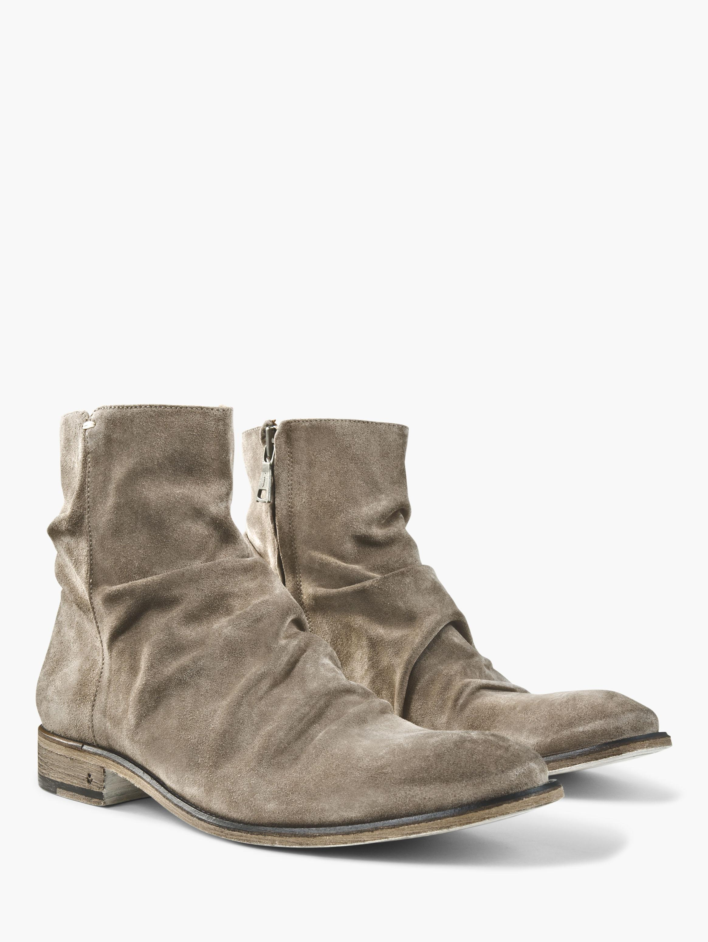 Suede Morrison Sharpei Boot