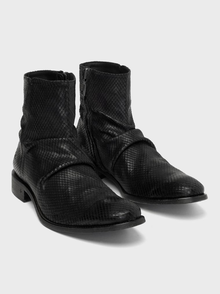 John Varvatos Morrison Sharpei Boots Black