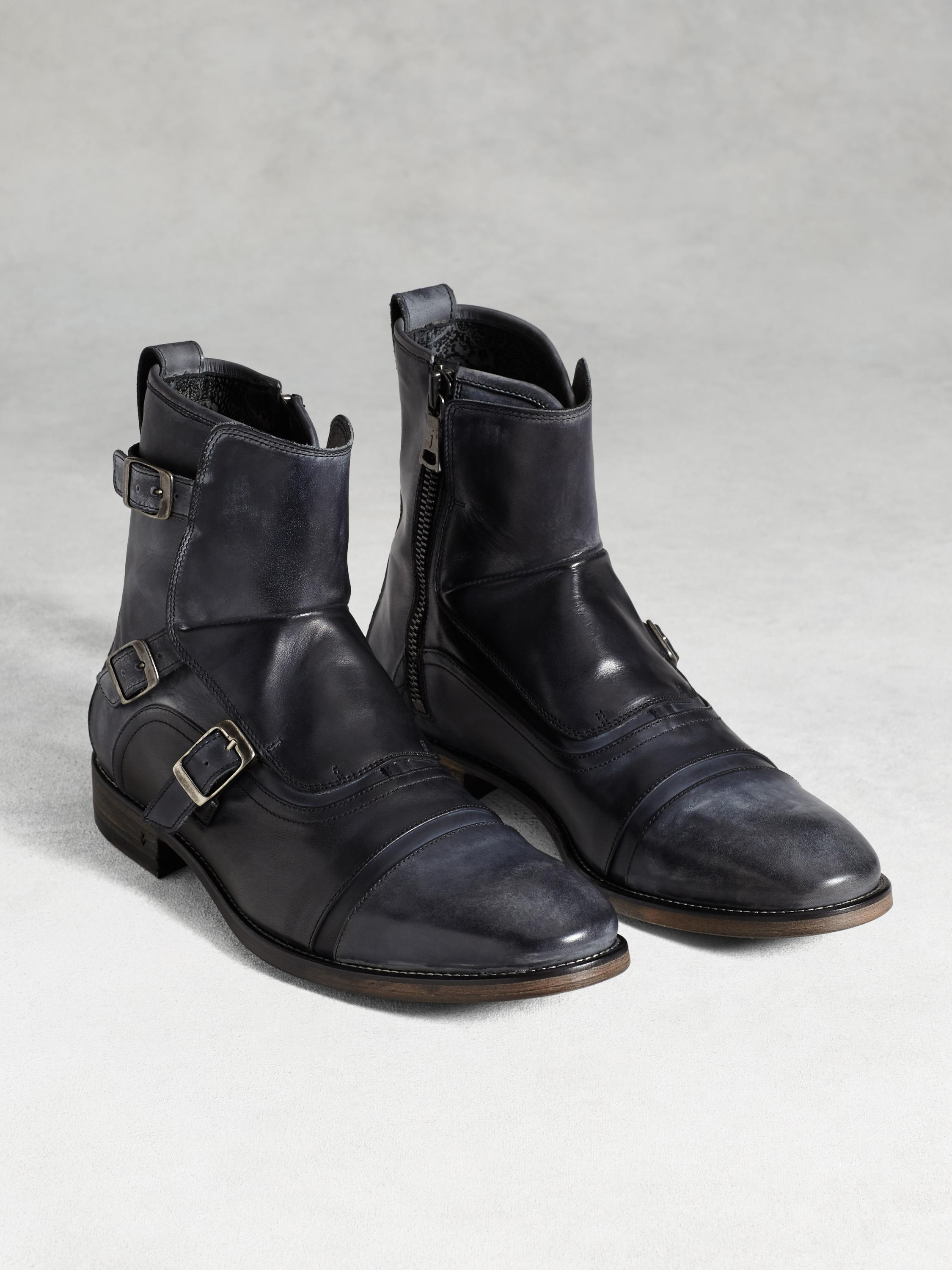 Fleetwood Triple Monk Boot