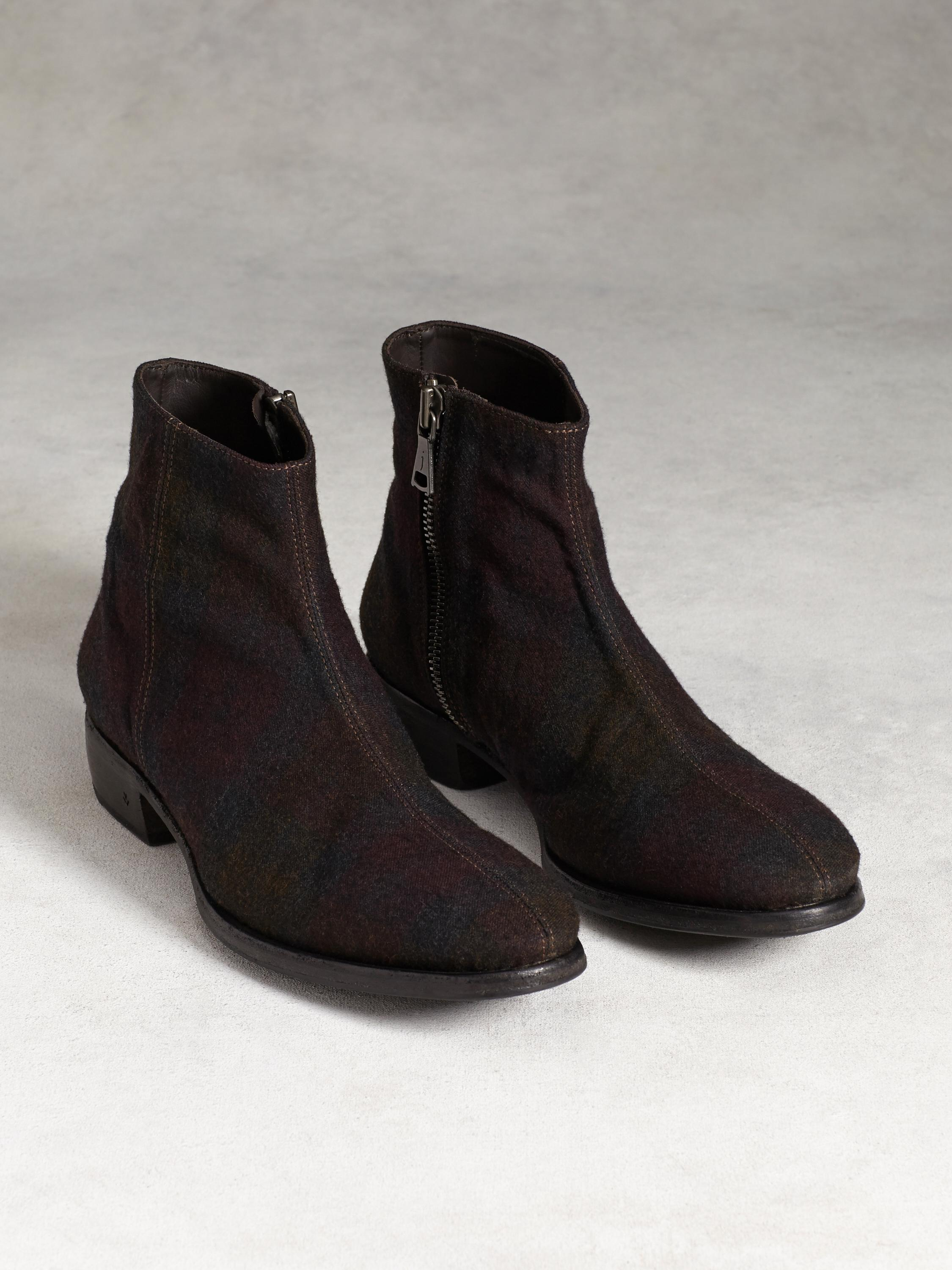 Keith Center Seam Zip Boot
