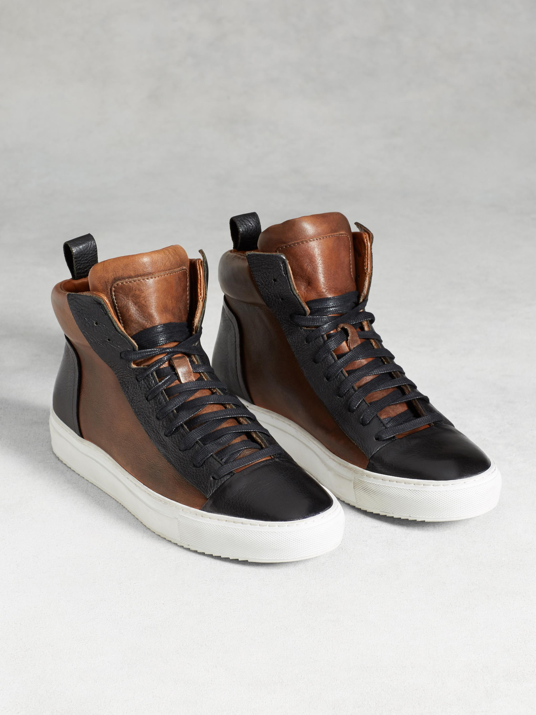 315 Reed Raw Edge High Top Sneaker