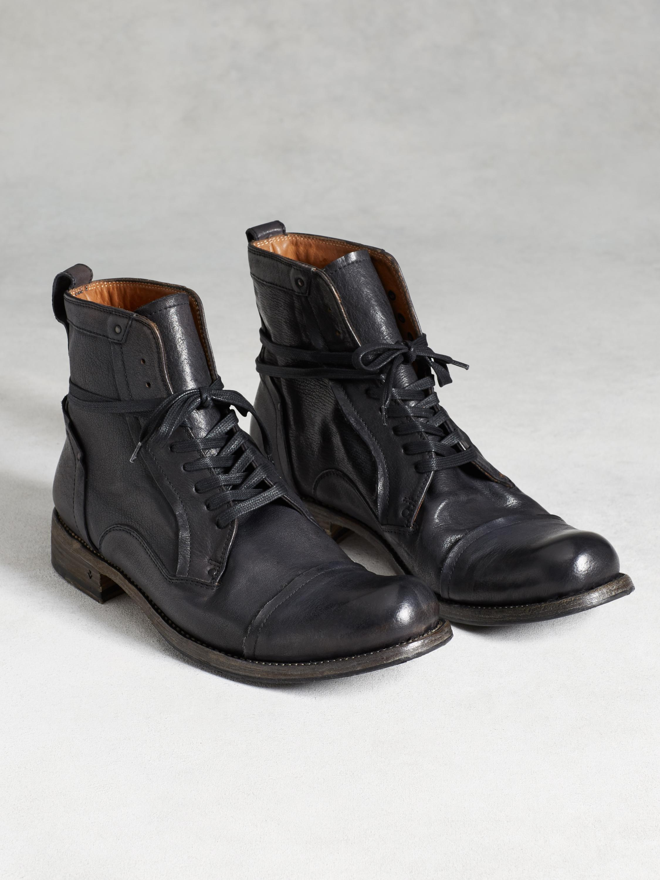 Brixton Welder Lace Boot