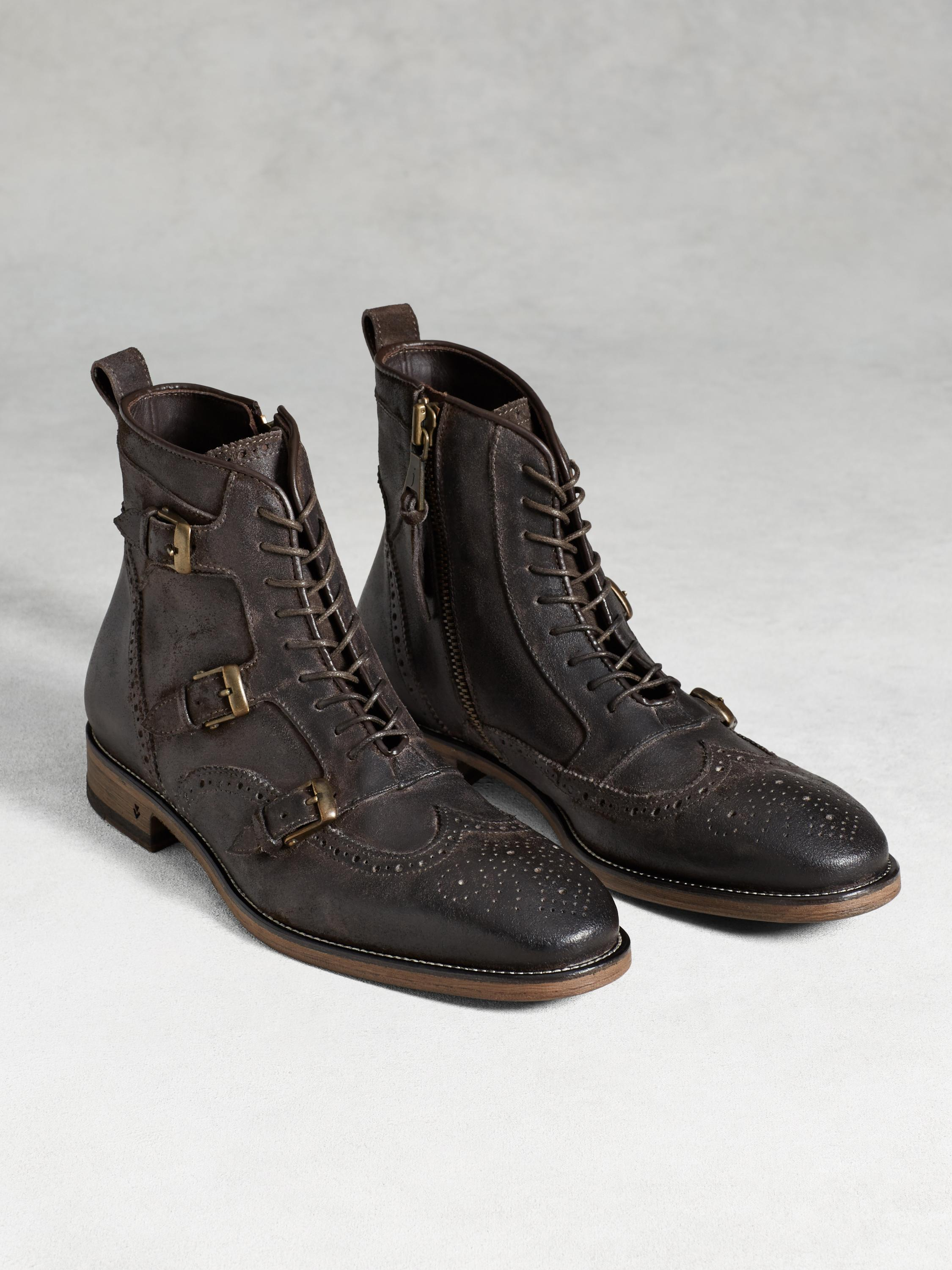 Laced Monk Boot