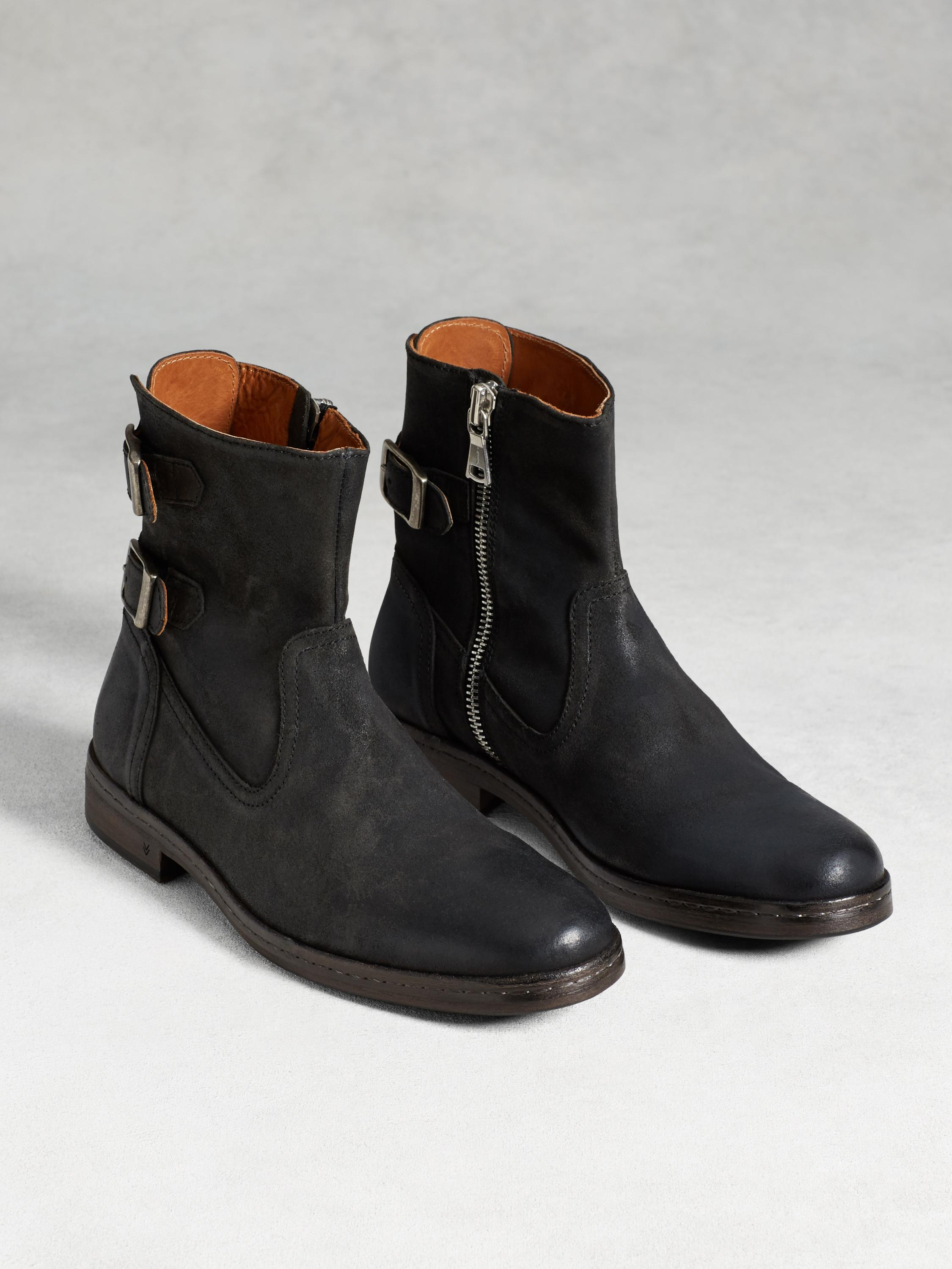 Julian Back Strap Boot