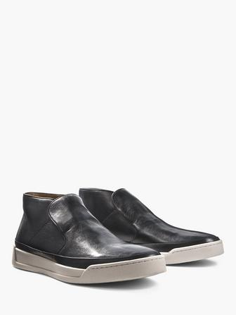 REMY SLIP ON MID TOP SNEAKER