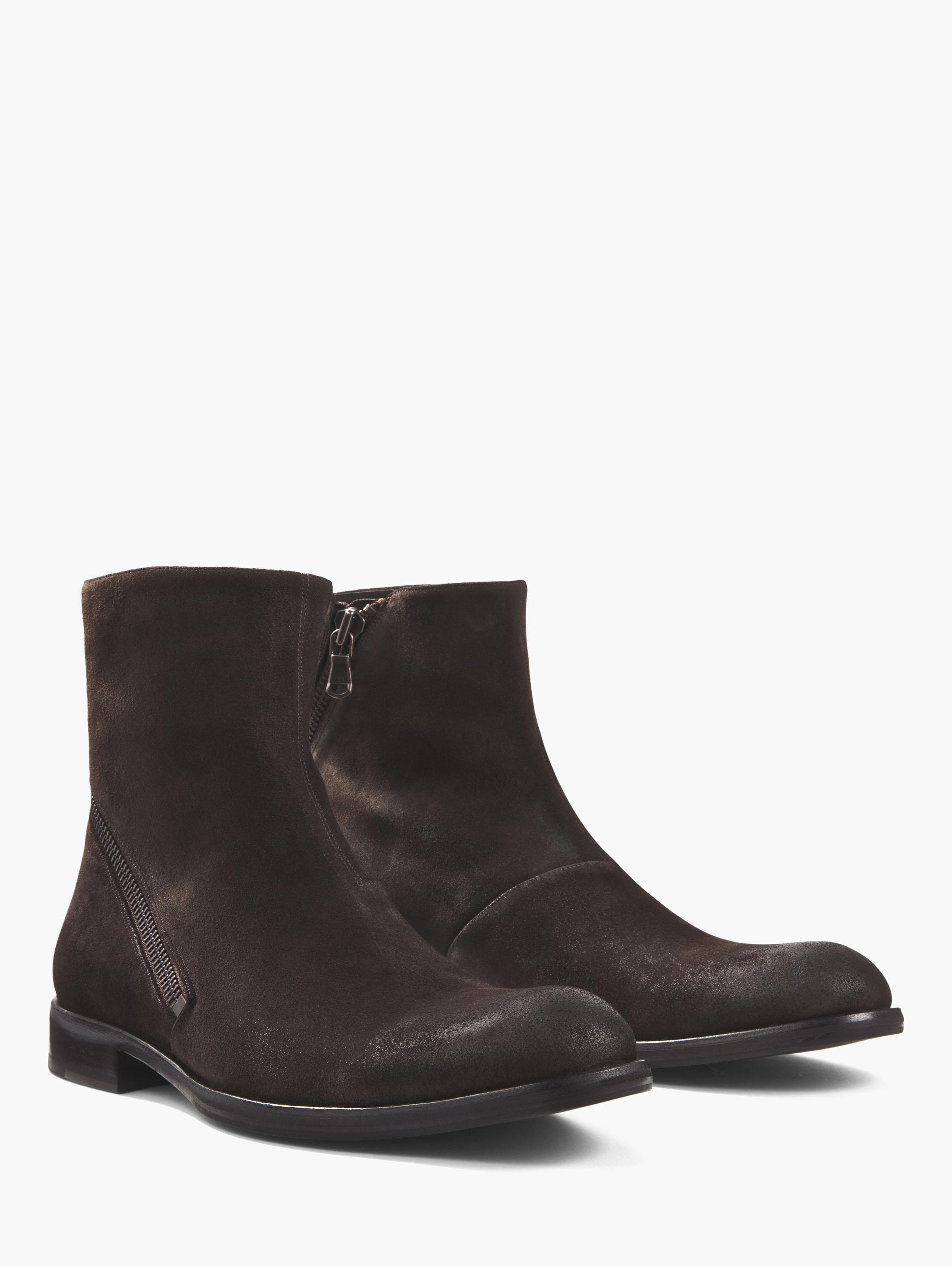WAVERLY ASYMMETRICAL ZIP BOOT