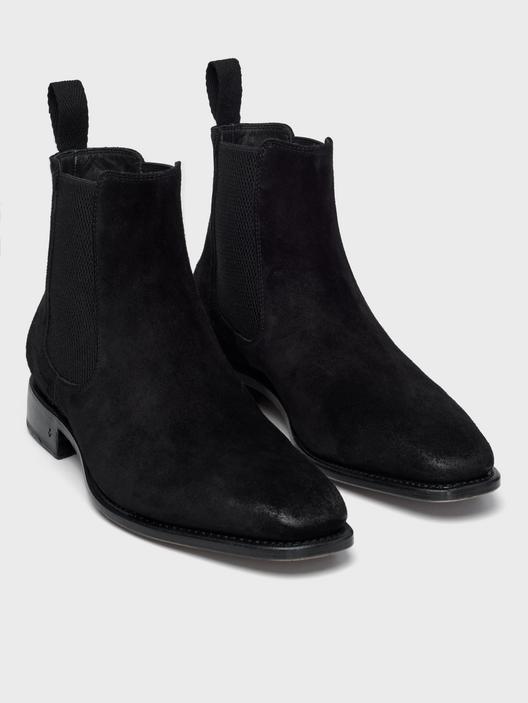 John Varvatos Amsterdam Chelsea Boots Black