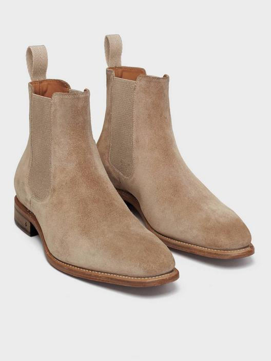 John Varvatos Amsterdam Chelsea Boots Brown
