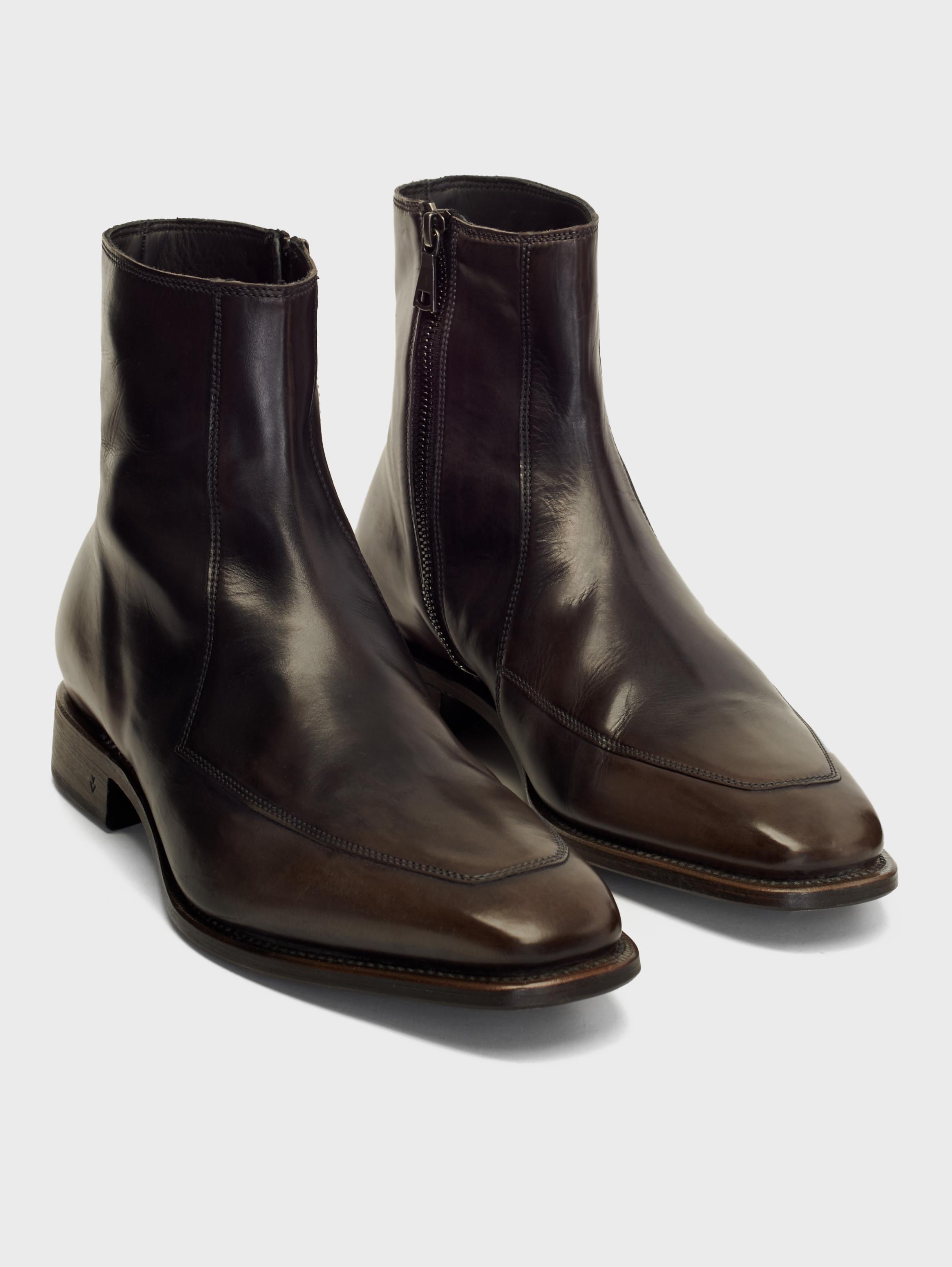 John Varvatos Amsterdam Apron Boots Lead