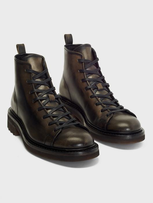 John Varvatos Essex Trooper Boots Charcoal