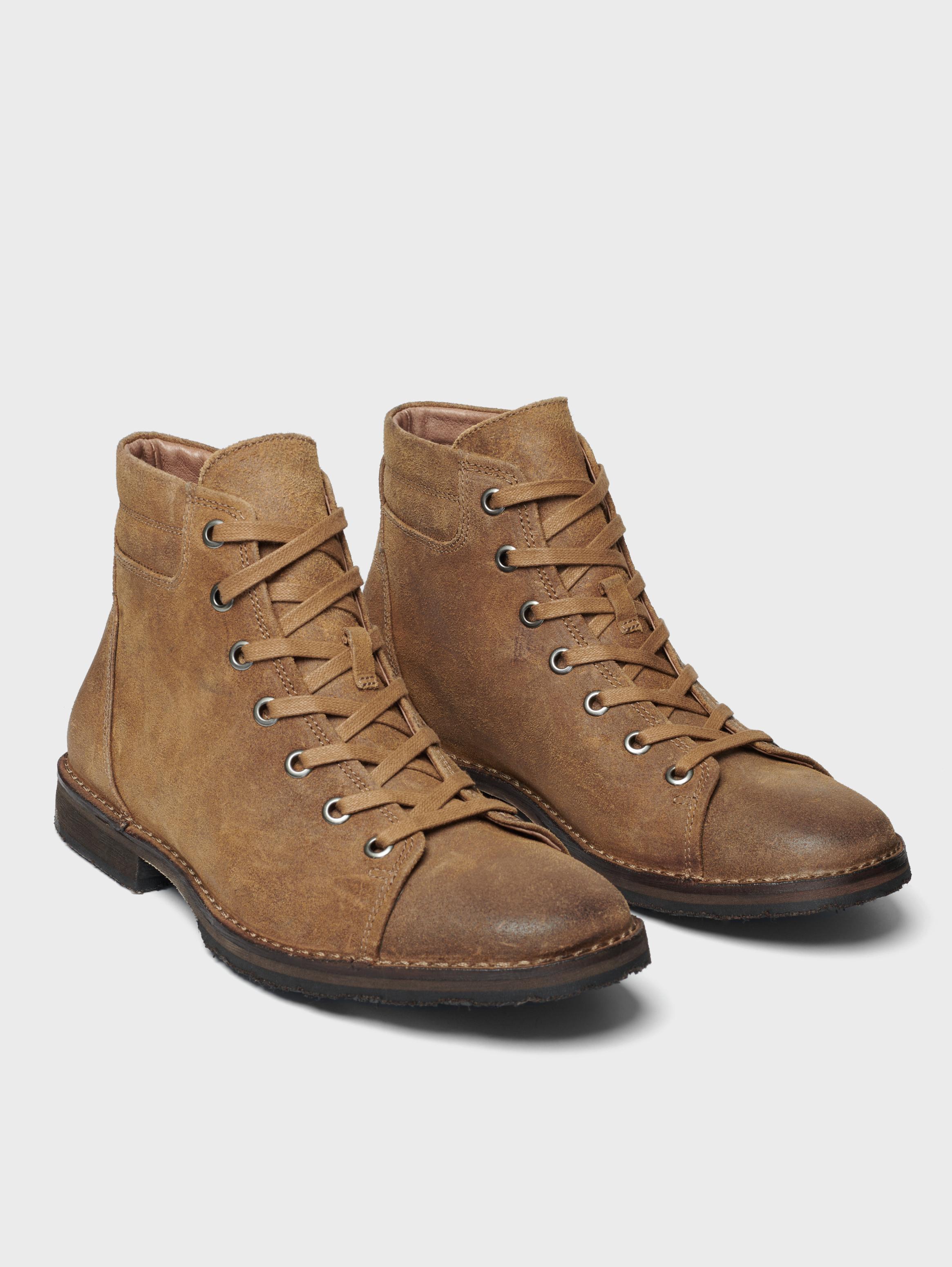 John Varvatos Portland Monkey Boot Clay