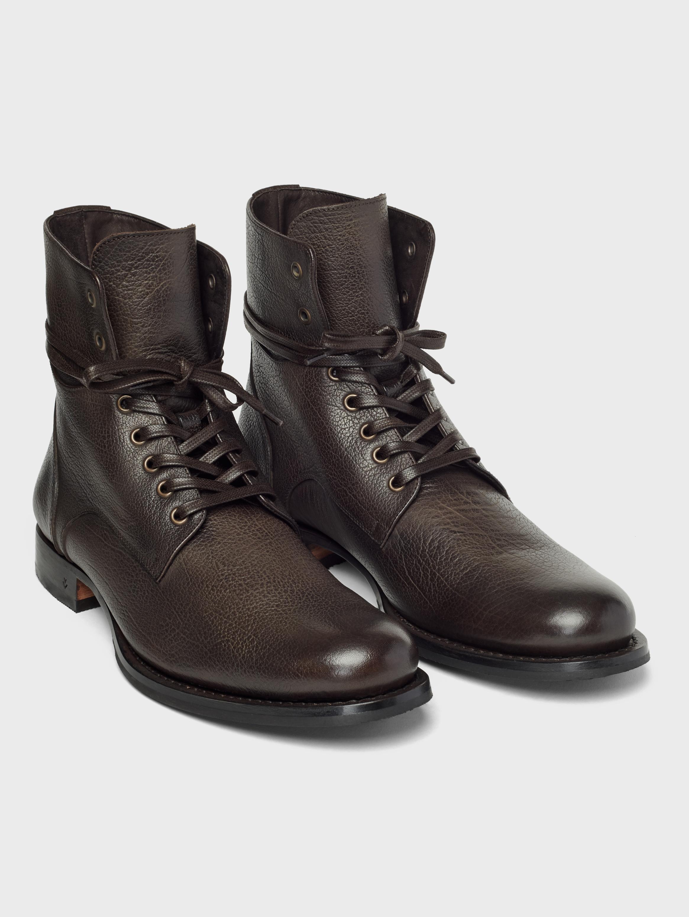 John Varvatos Six O Six Artisan Convertible Boots Chocolate