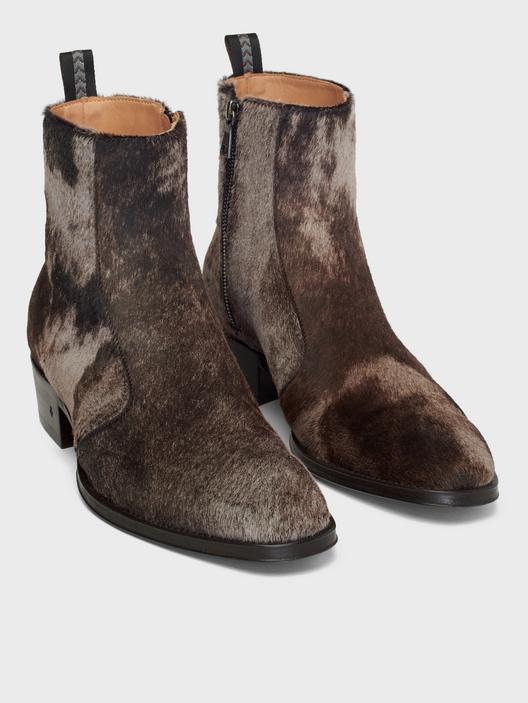 John Varvatos Ludlow Vintage Zip Boot Coffee