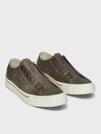 HANDSTAINED VULCANIZED LOW TOP