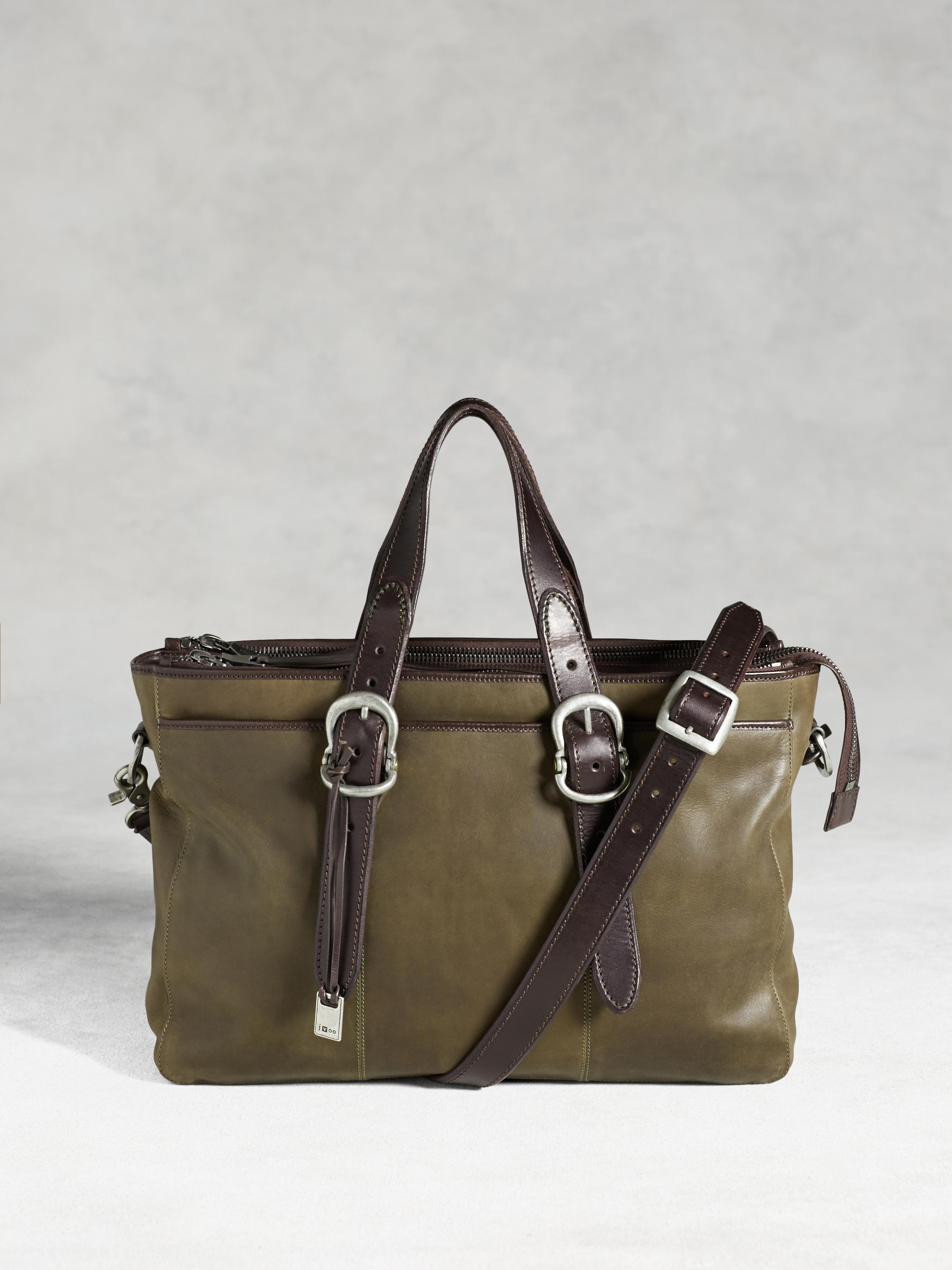 Bleeker Triple Zip Attache Bag