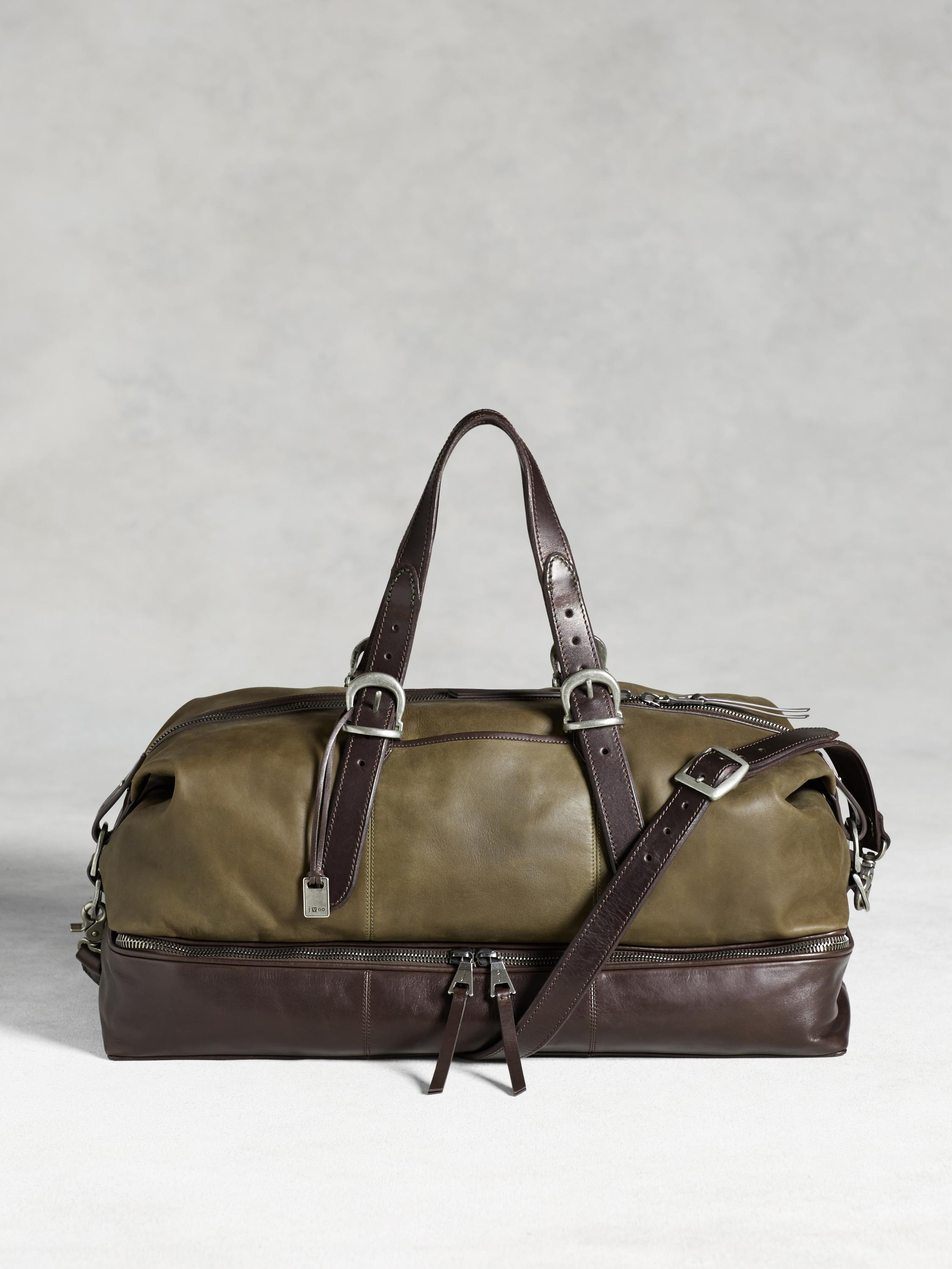 Bleeker Zip Compartment Duffle