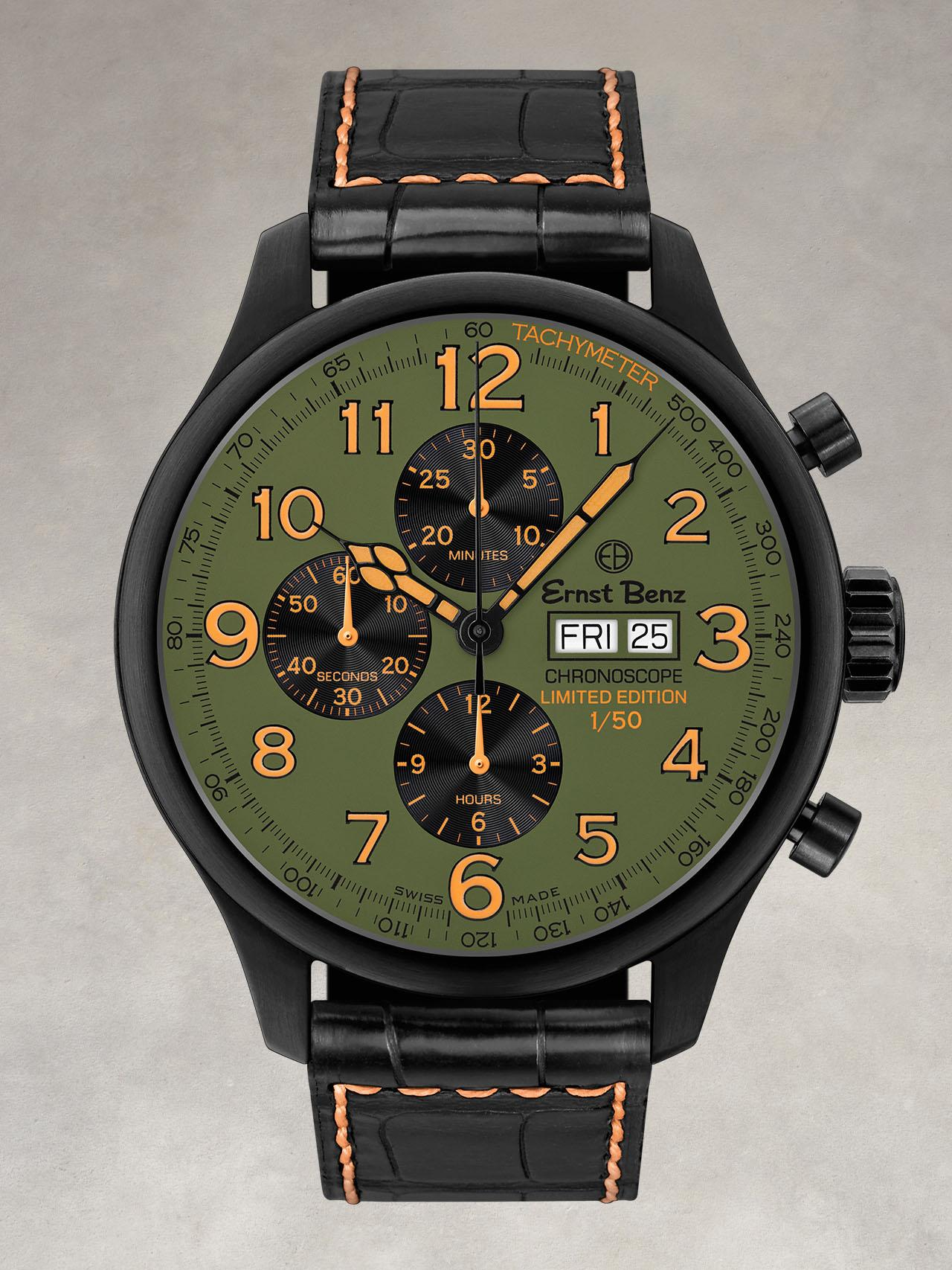Ernst Benz ChronoCombat Chrono Scope Watch