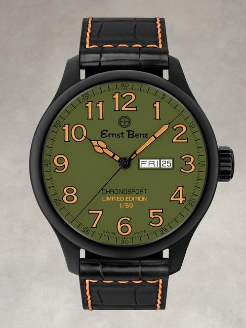 John Varvatos Ernst Benz ChronoCombat Chronosport Watch