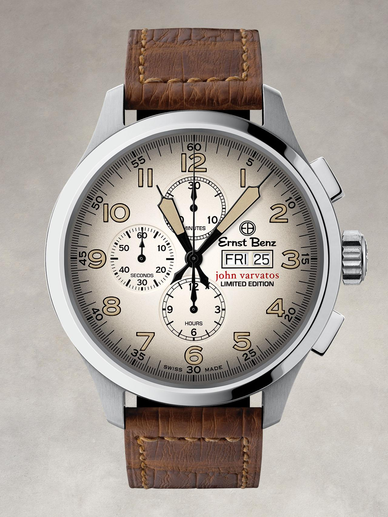 John Varvatos Chronoscope Watch
