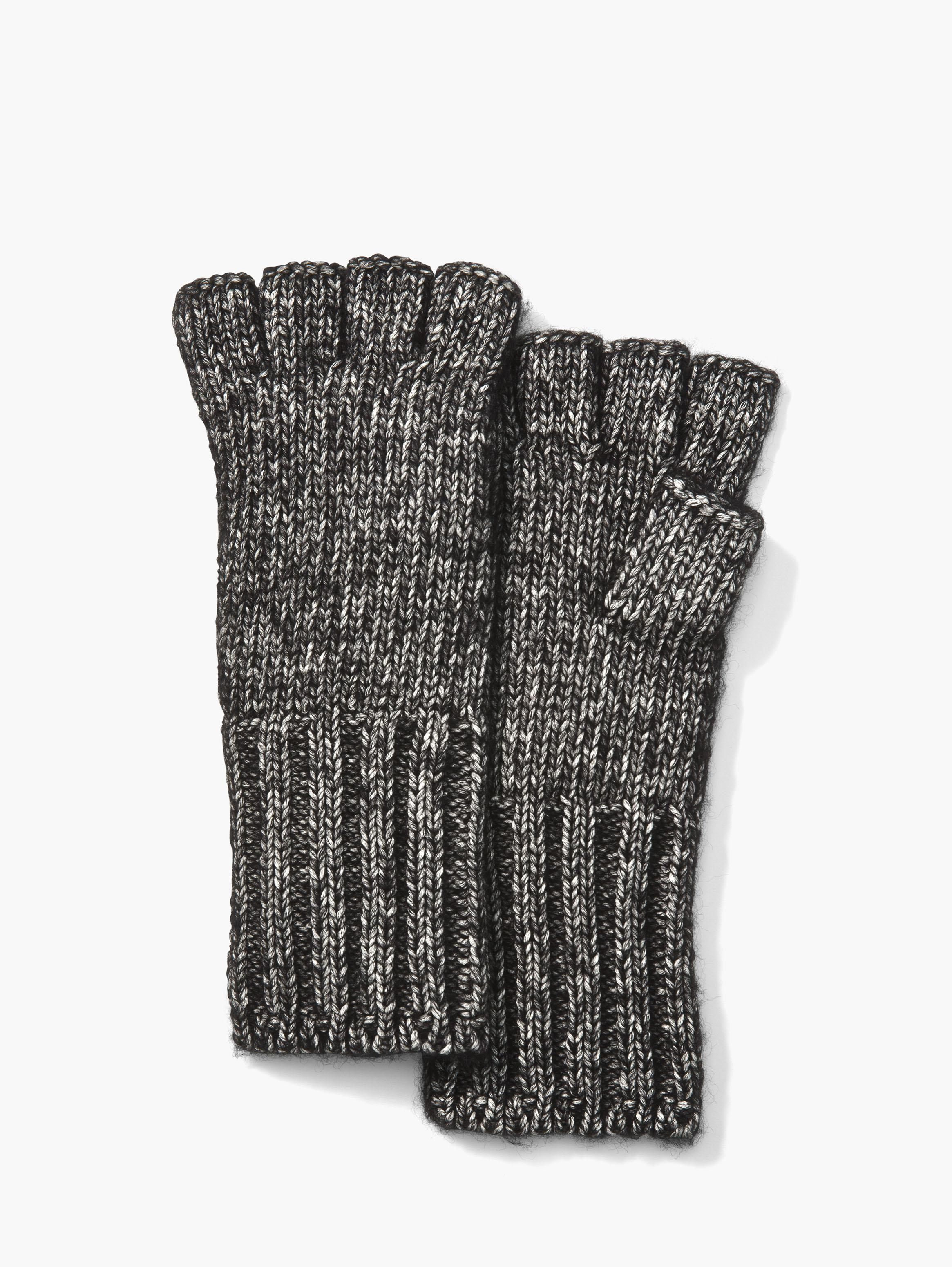 Cotton Wool Fingerless Gloves