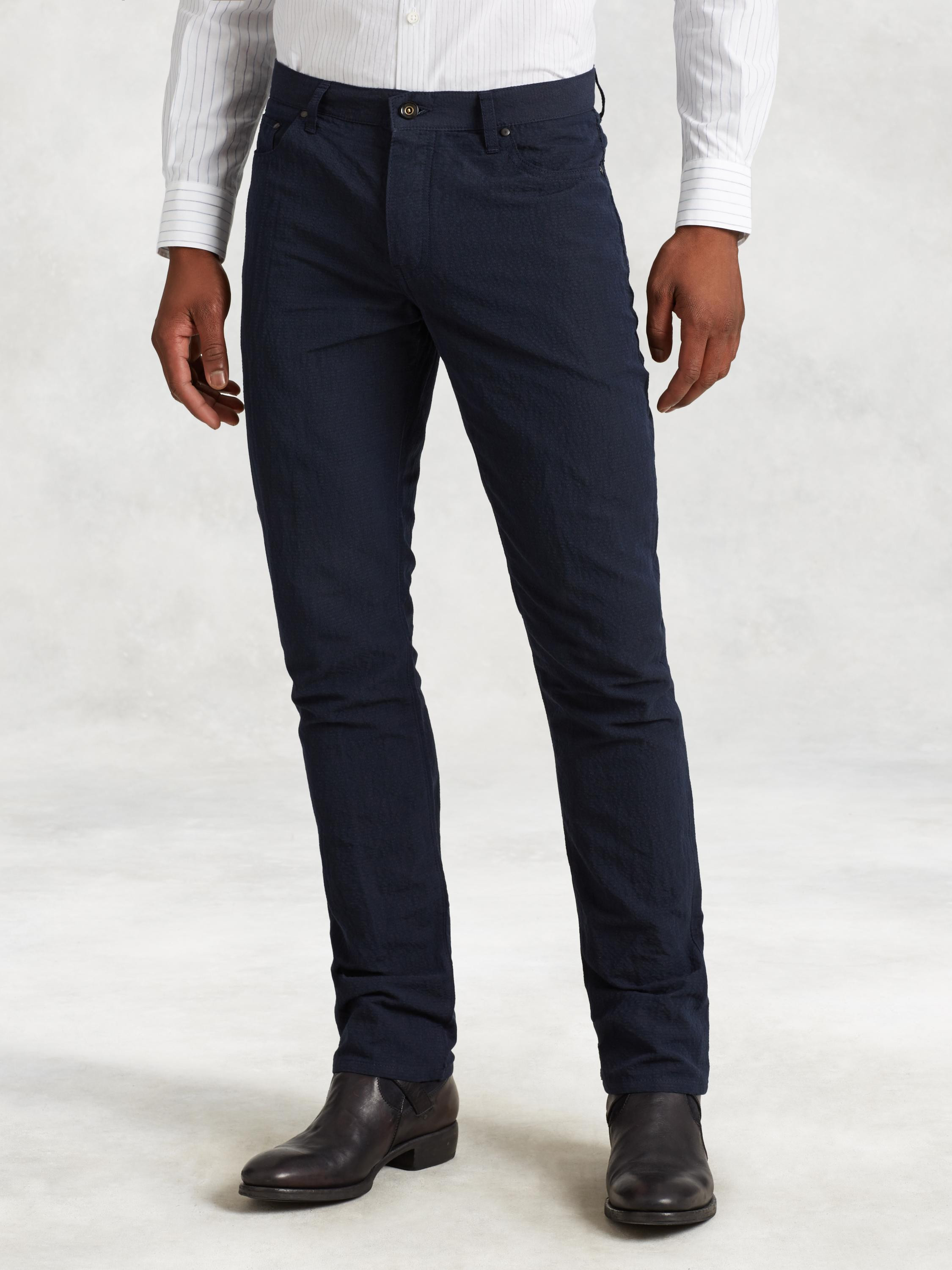 Cotton Linen Woodward Jean
