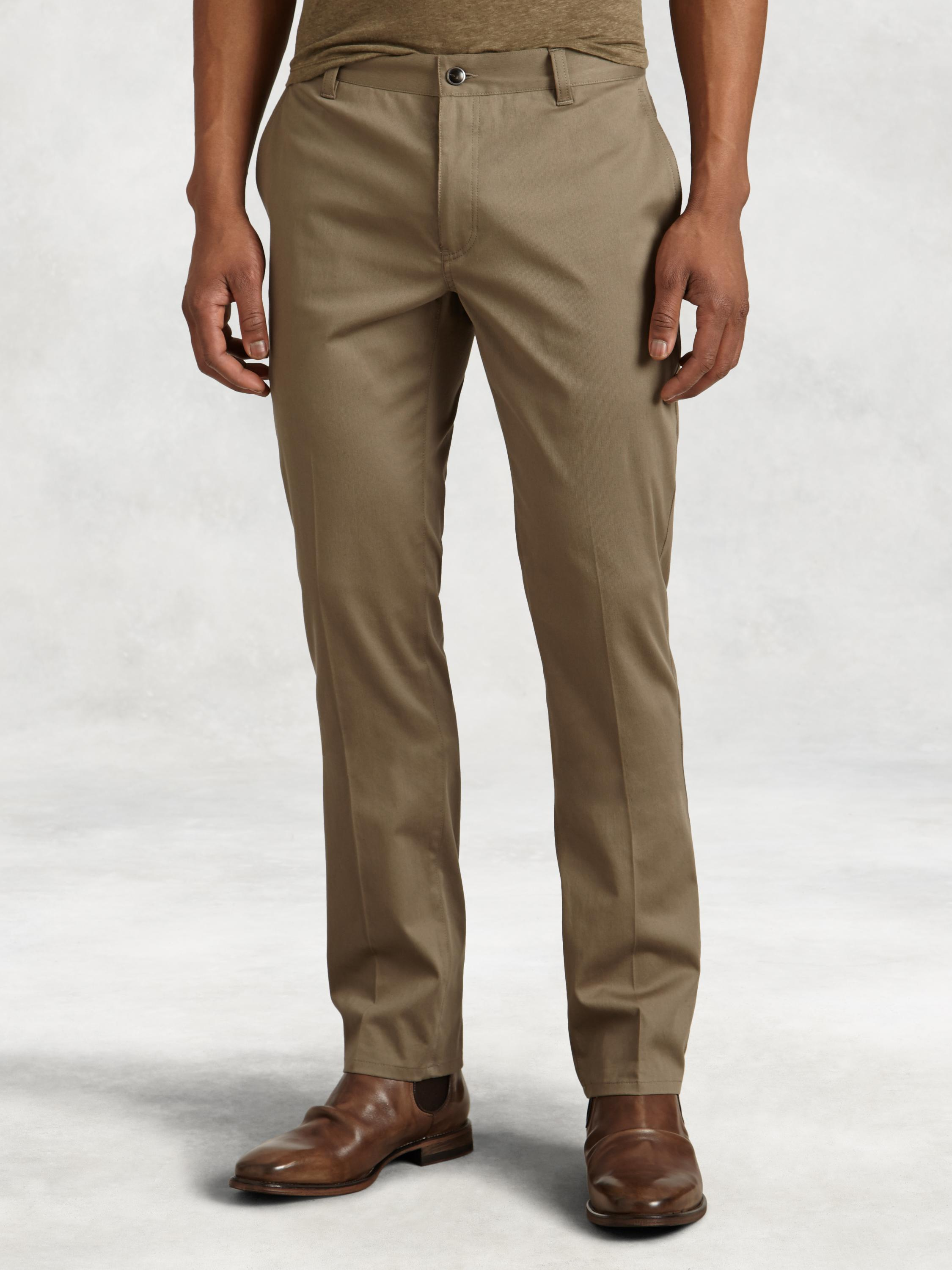 Stretch Cotton Motor City Pant