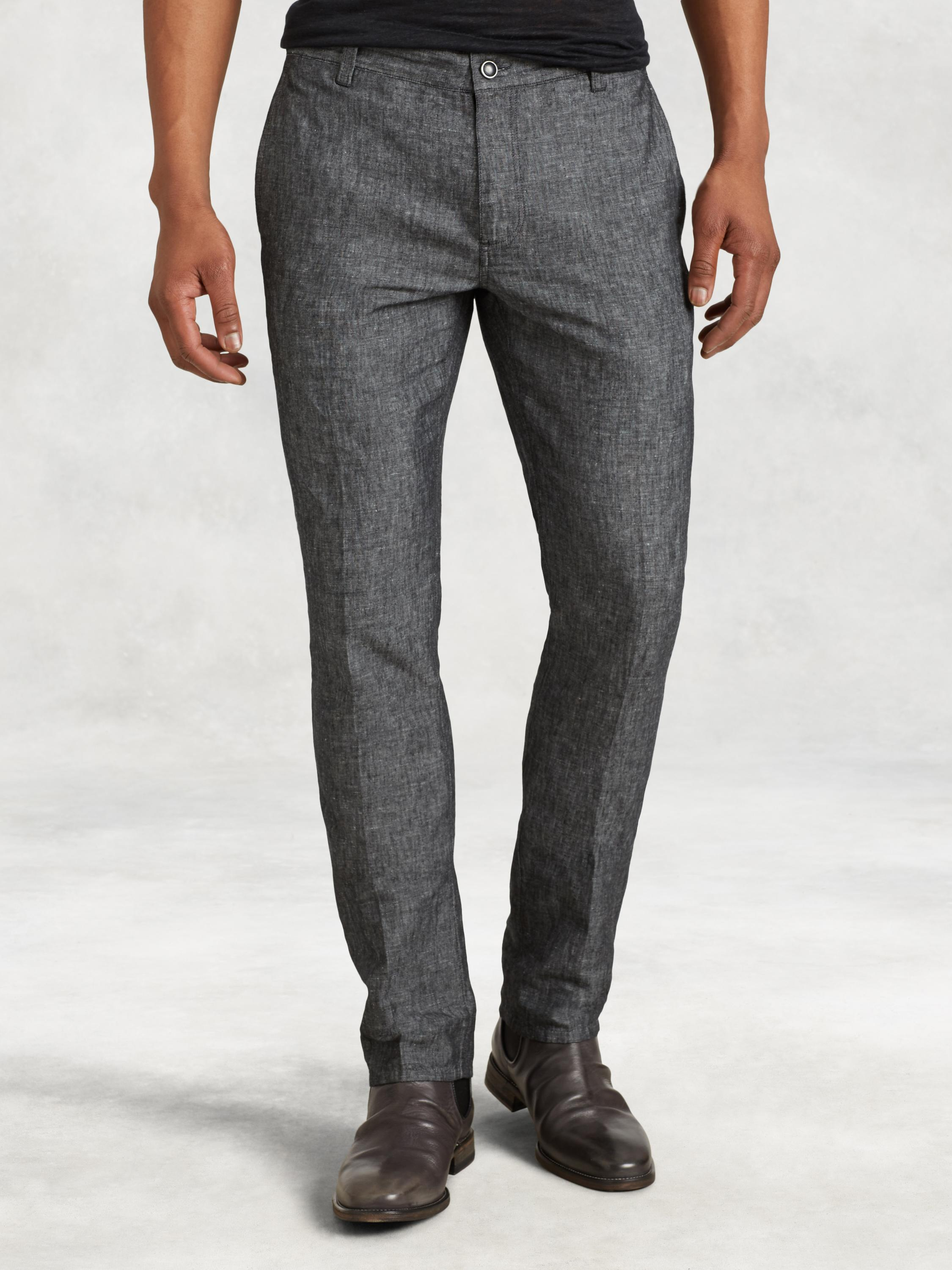 Cotton Linen Motor City Pant