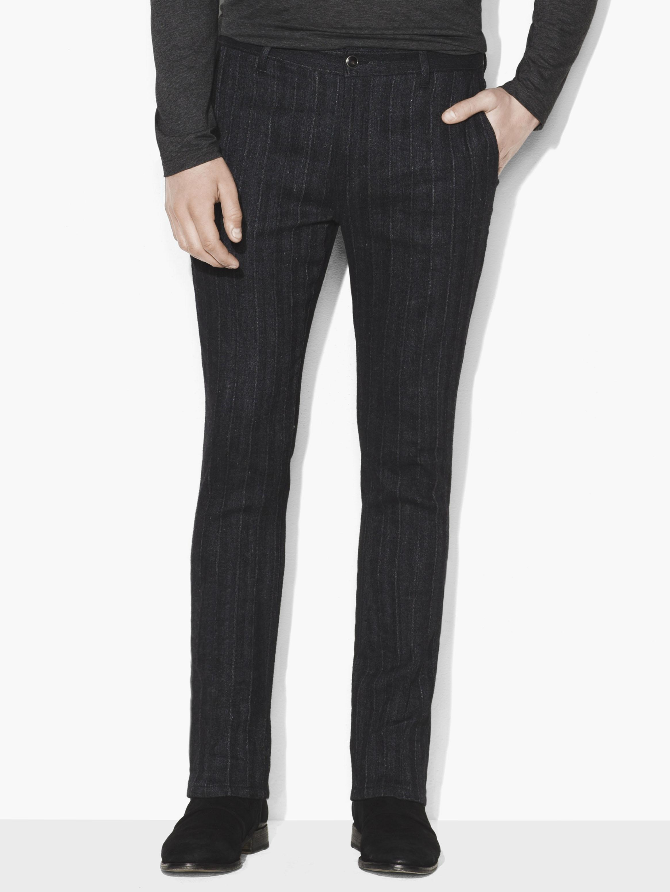 Striped Motor City Pant