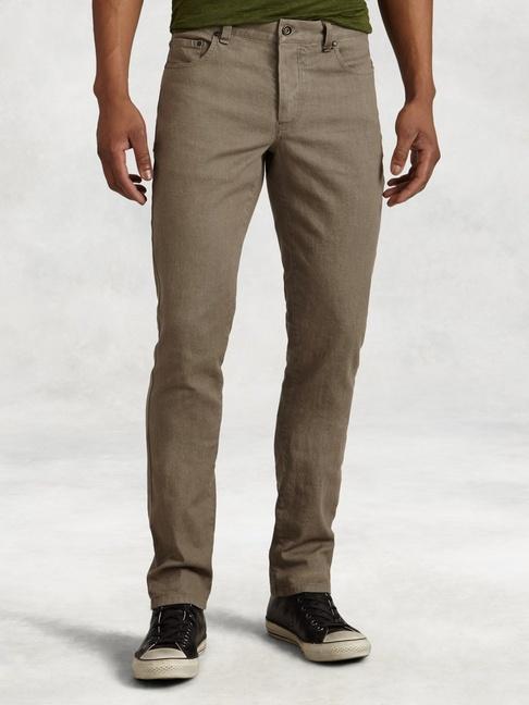 John Varvatos Linen Cotton Chelsea Jeans