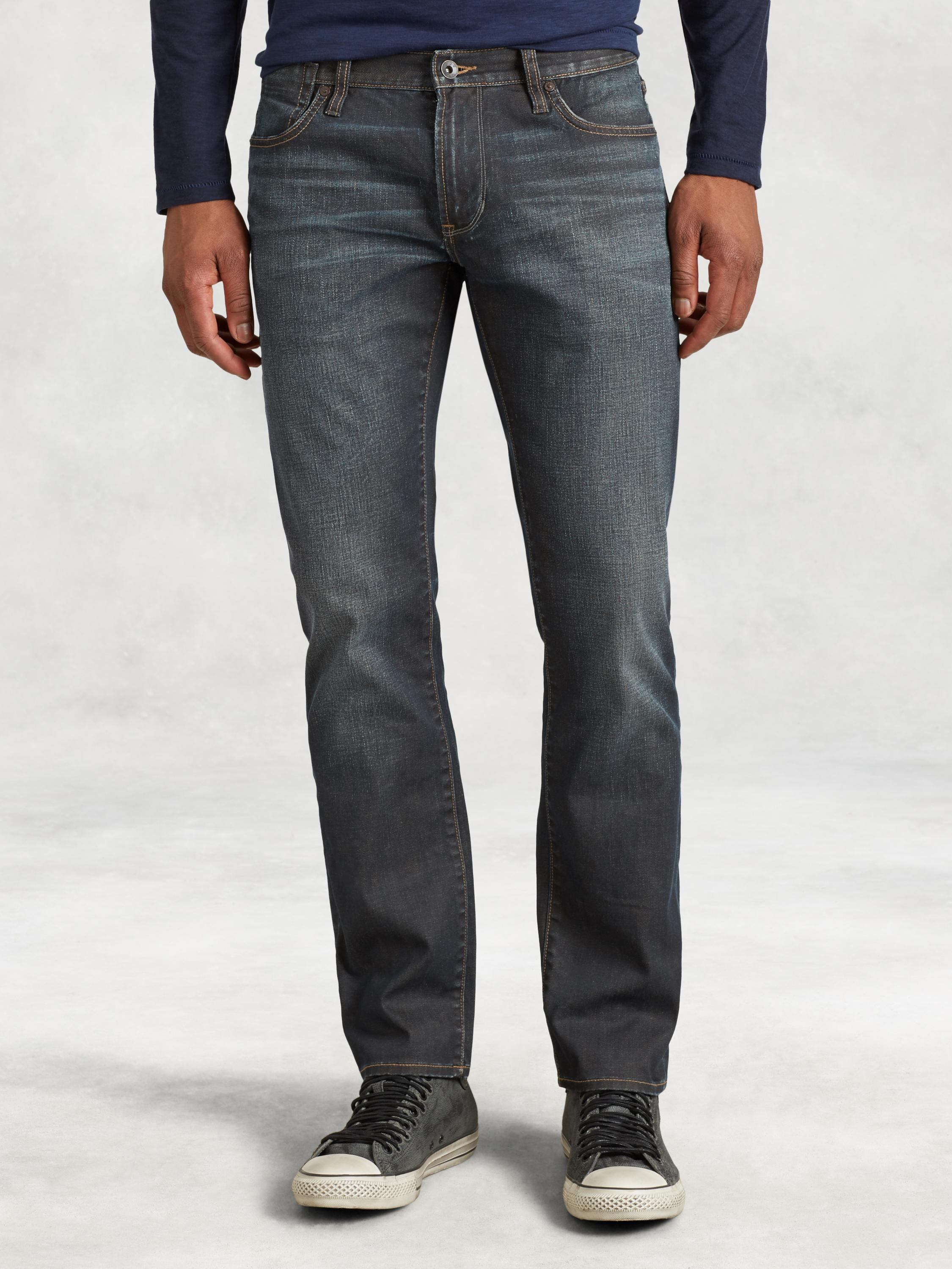 Resin Coated Cotton Bowery Jean