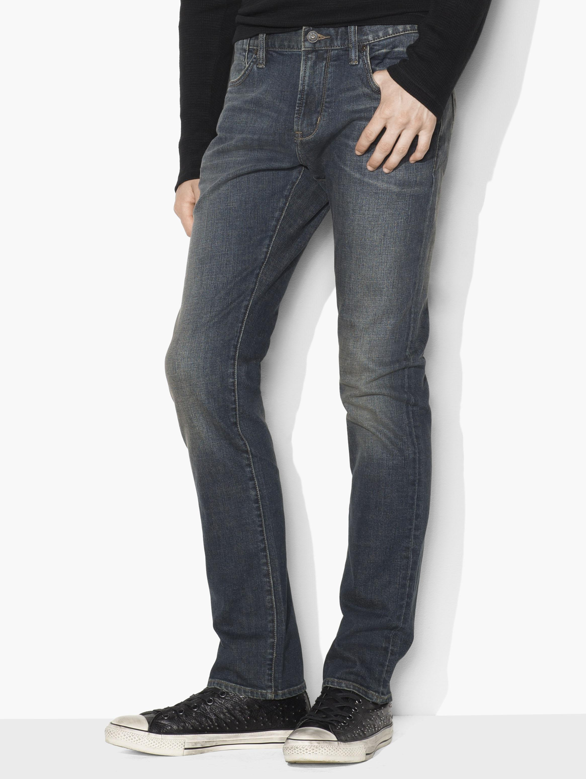 Bowery Jean in Distressed Indigo