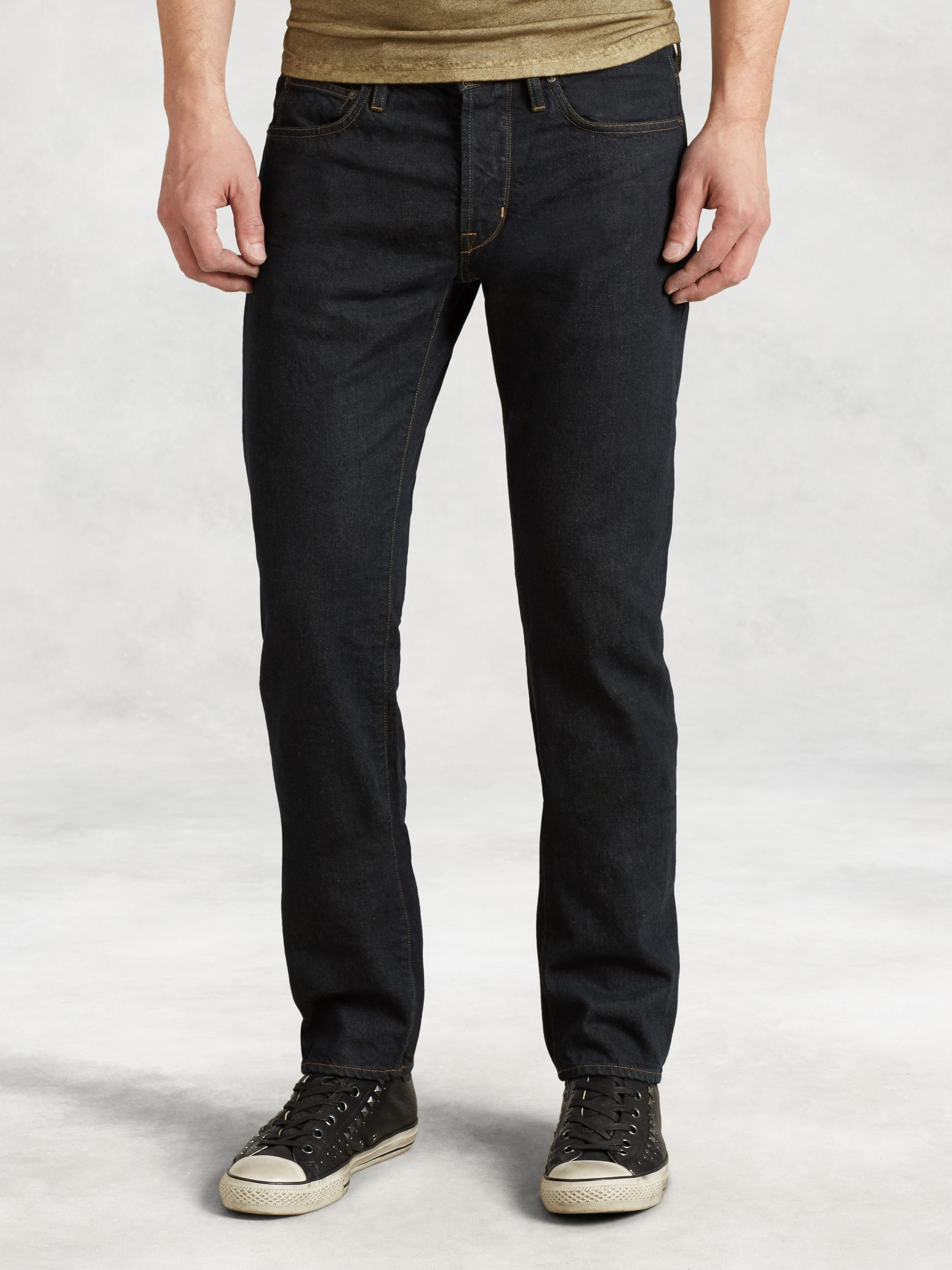 Cotton Selvedge Bowery Jean